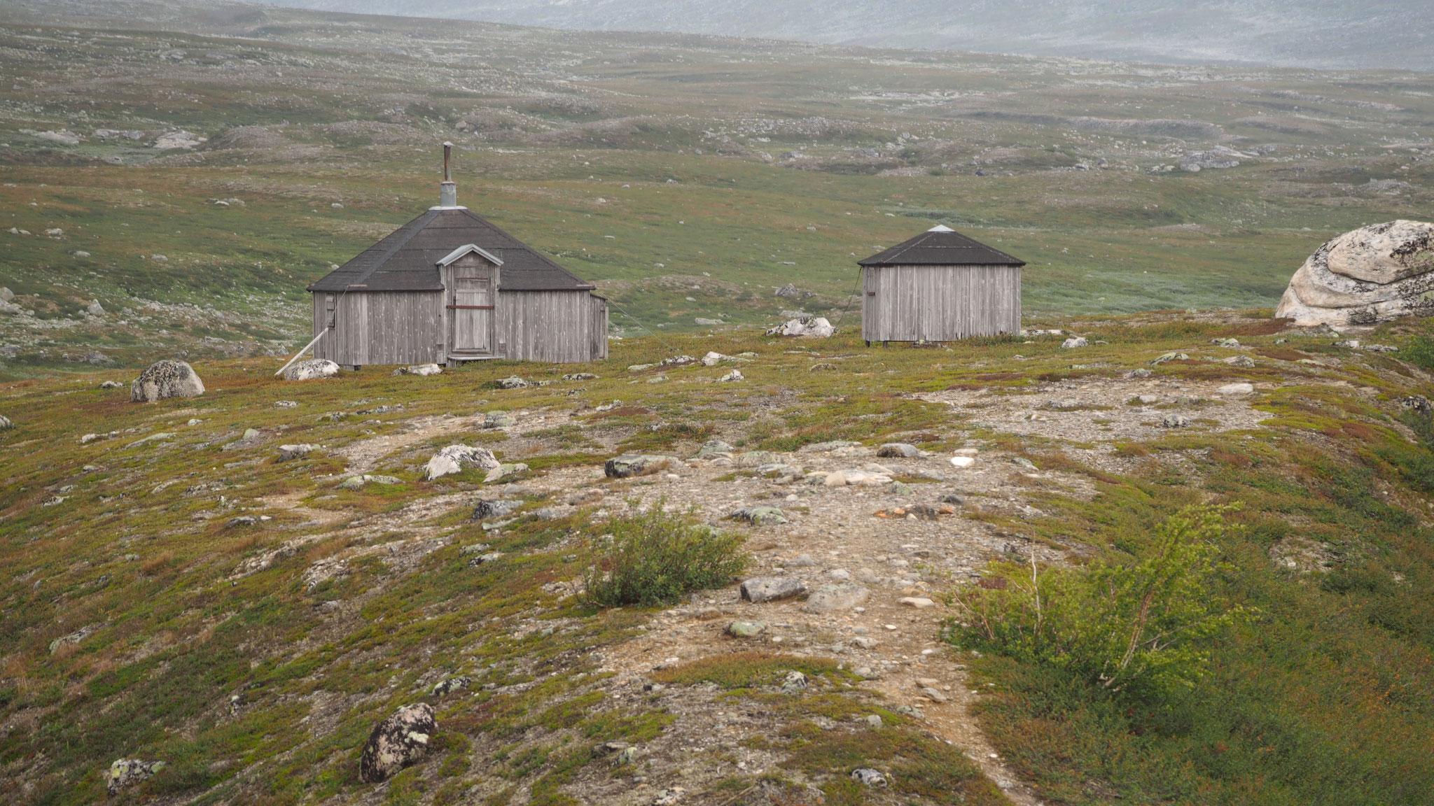 Hütten am Polarkreis