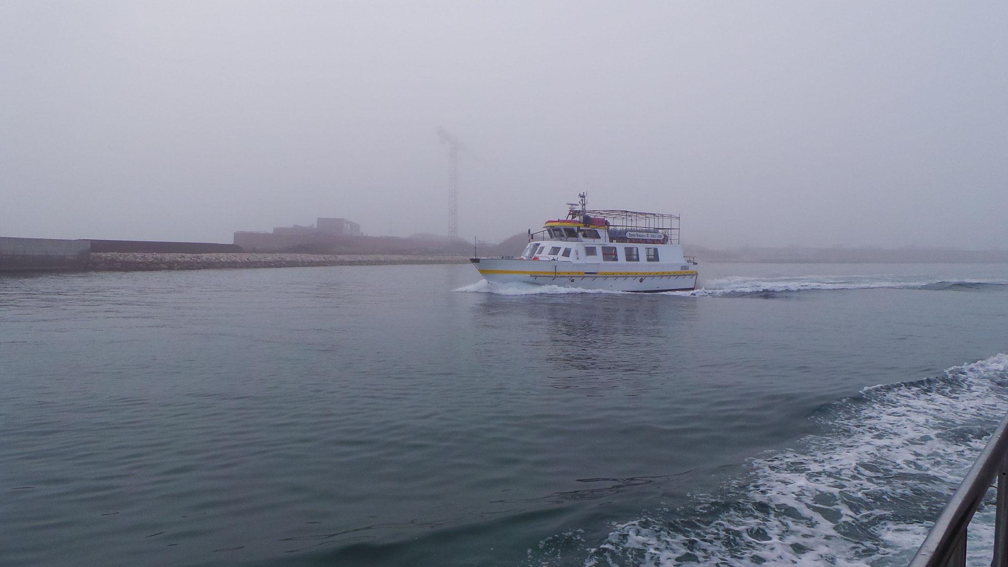 Ausflugschiff vor Venedig