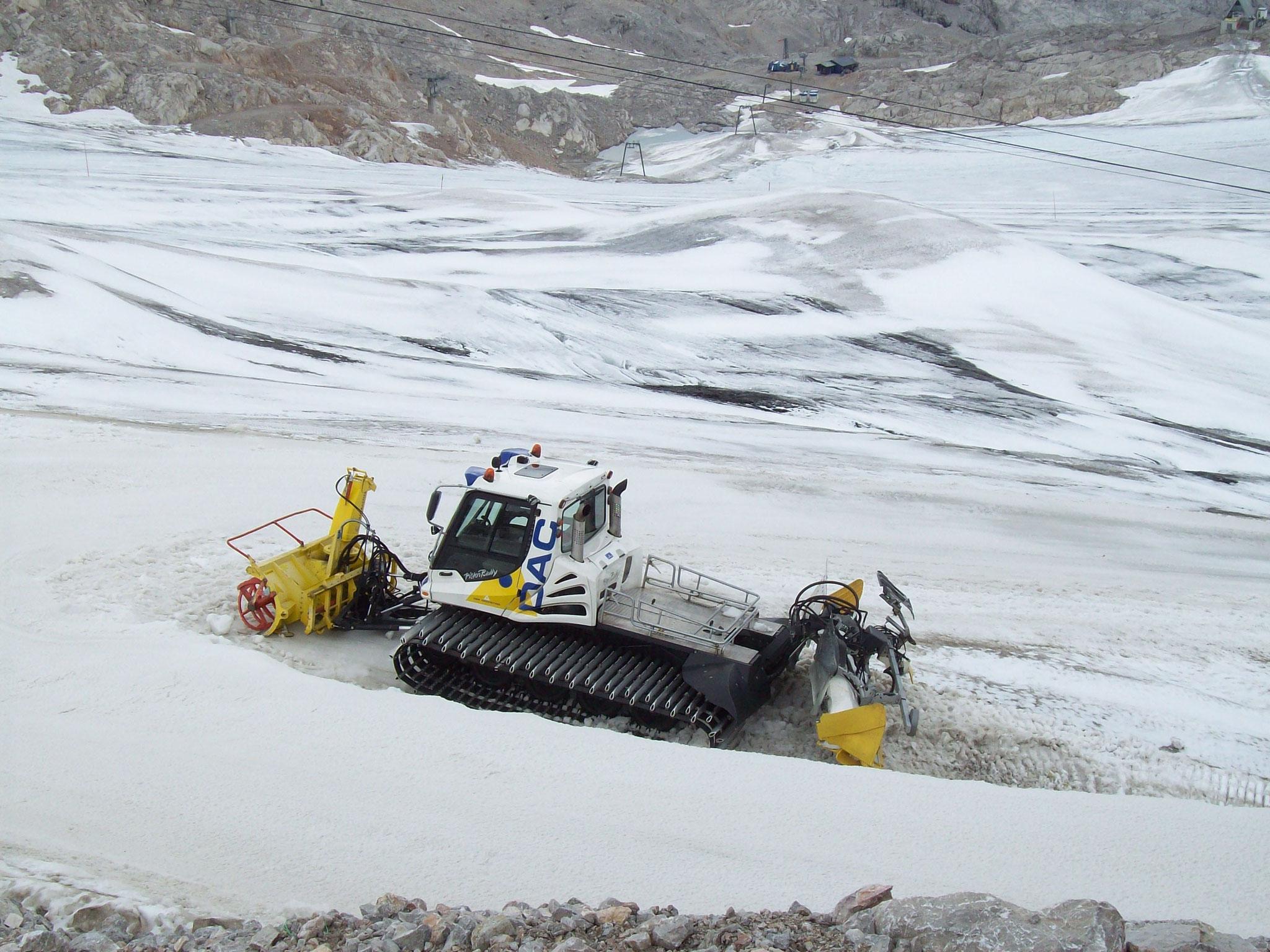 Radrak am Dachstein Gletscher