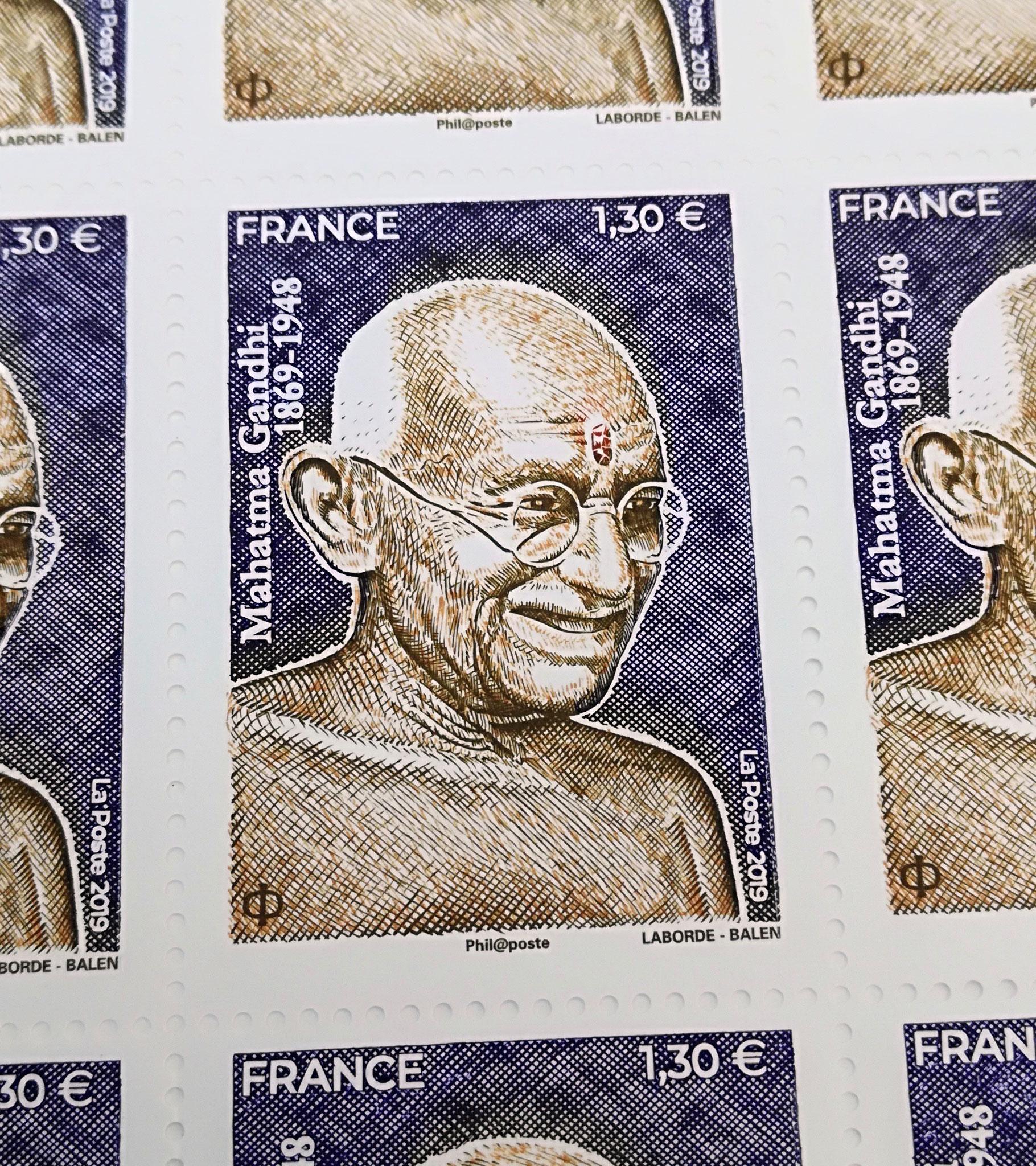 150ème anniversaire du Mahatma Gandhi