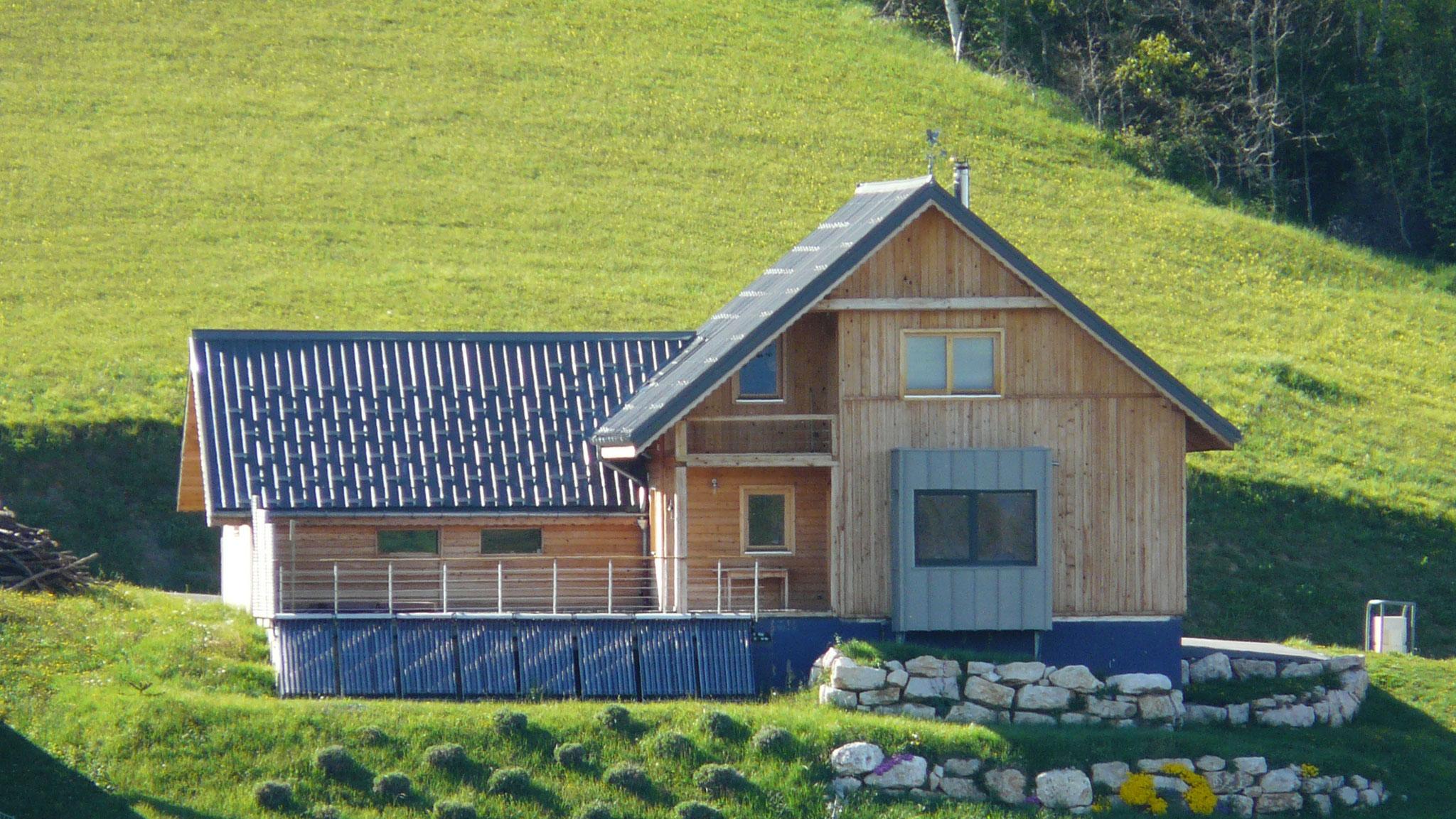 Maison bois Plateau des Petites Roches