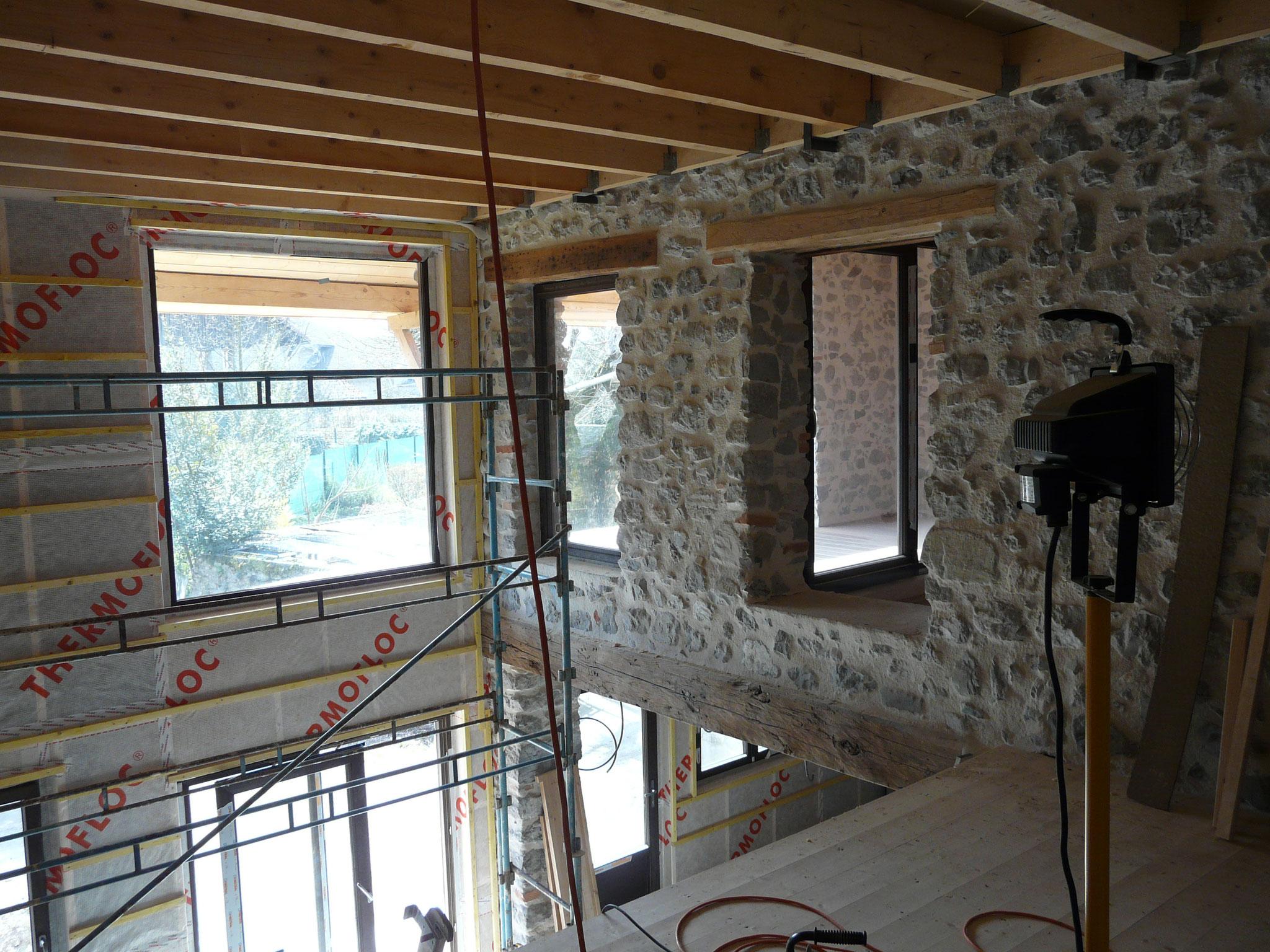 APRES Rénovation batisse ancienne (Maç. PARETI)