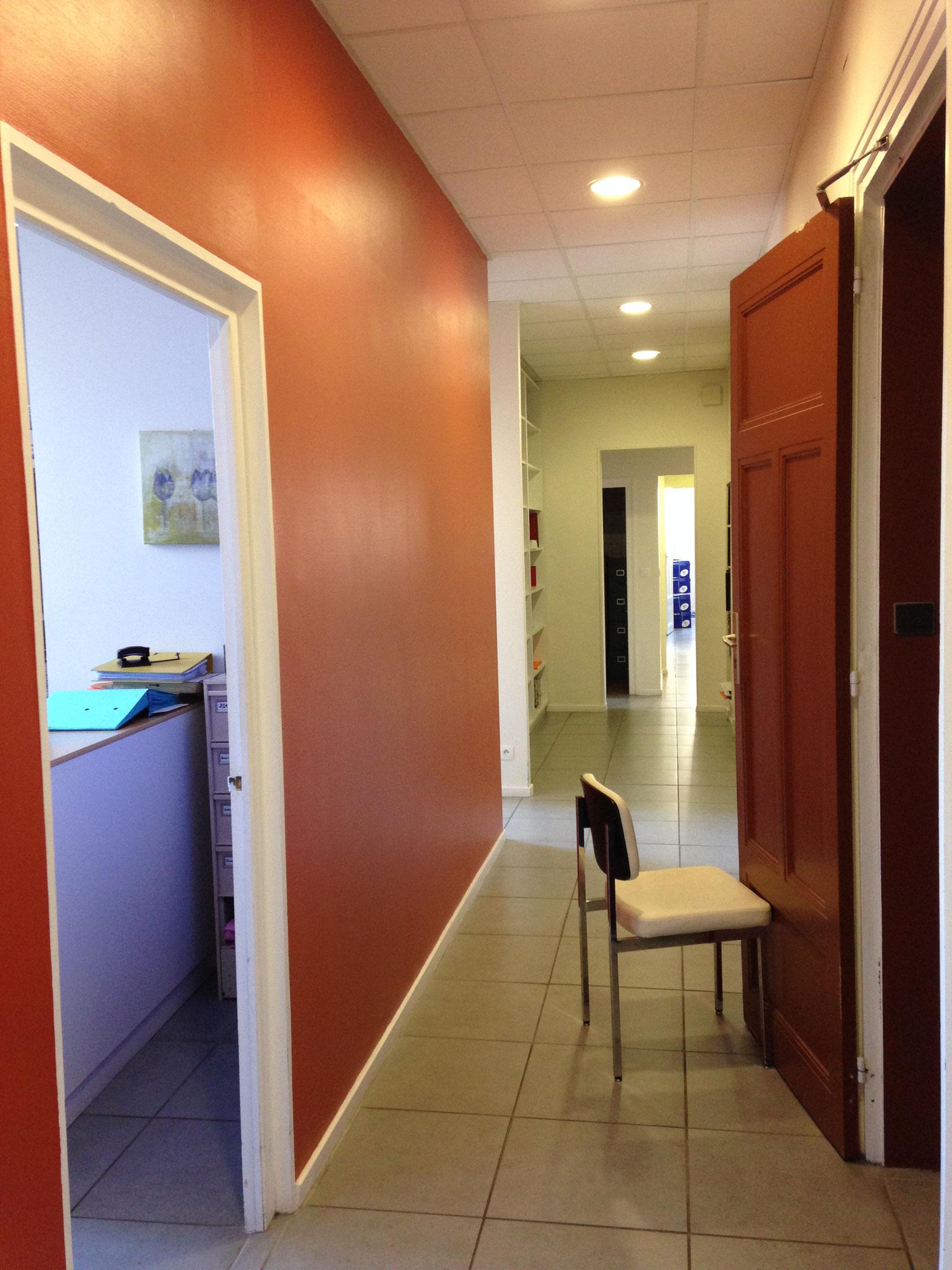 AVANT Renovation Bureaux (maitrise d'oeuvre ACOR MOE Grenoble -Arch. Intérieur MLM intérieurs)