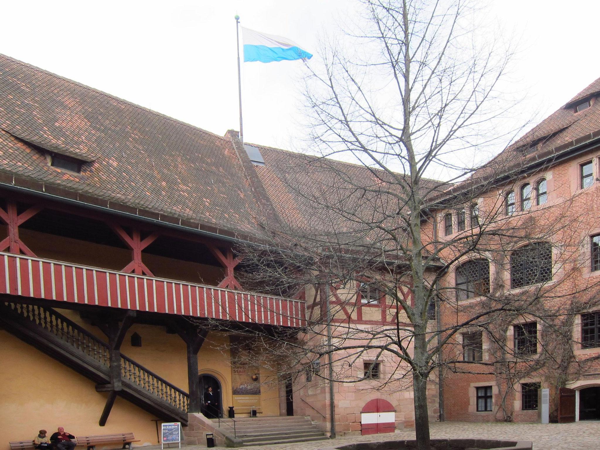 Двір Імператорської фортеці.