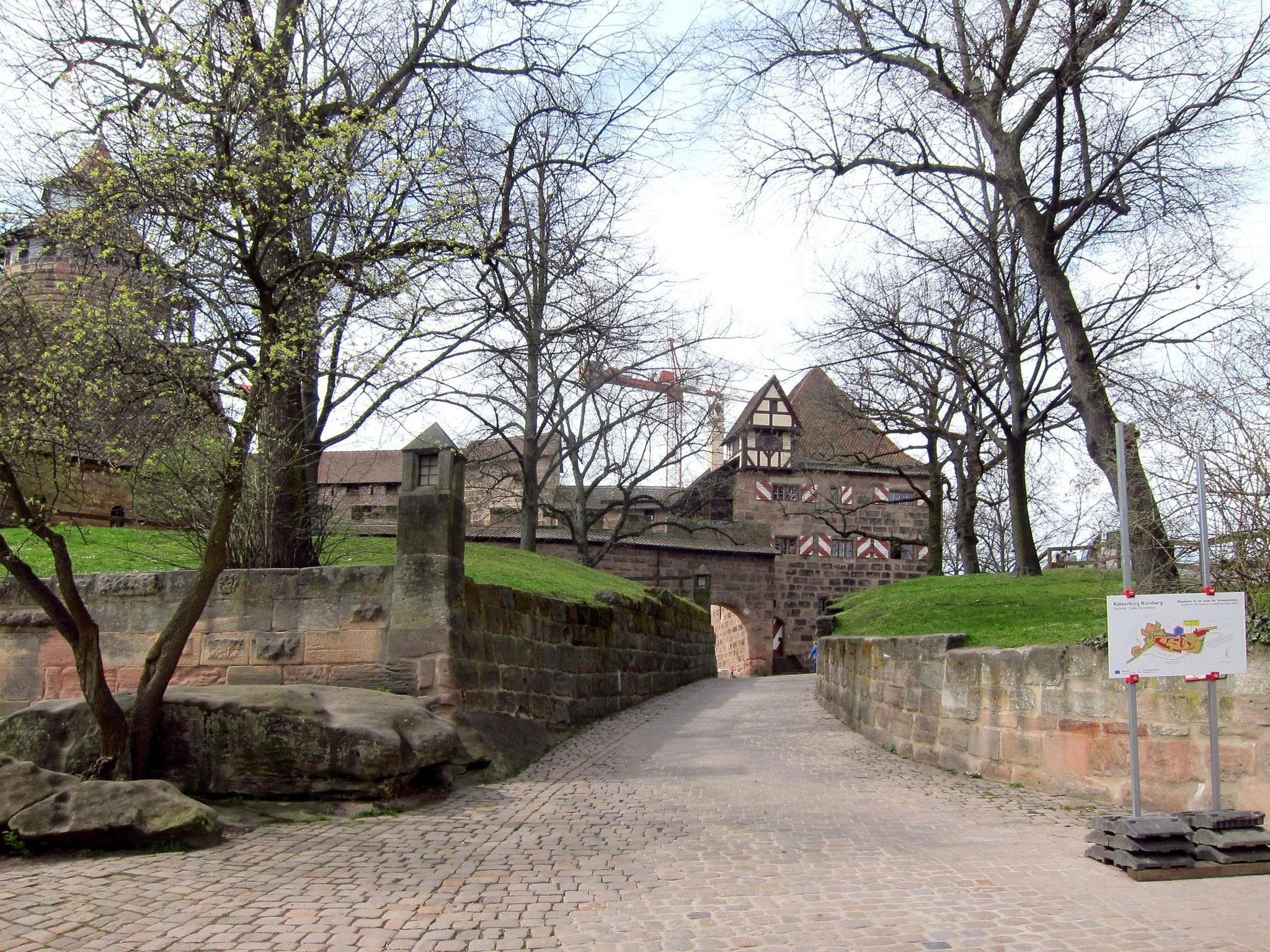 Вхід у Бургграфську фортецю. Верхній вхід.
