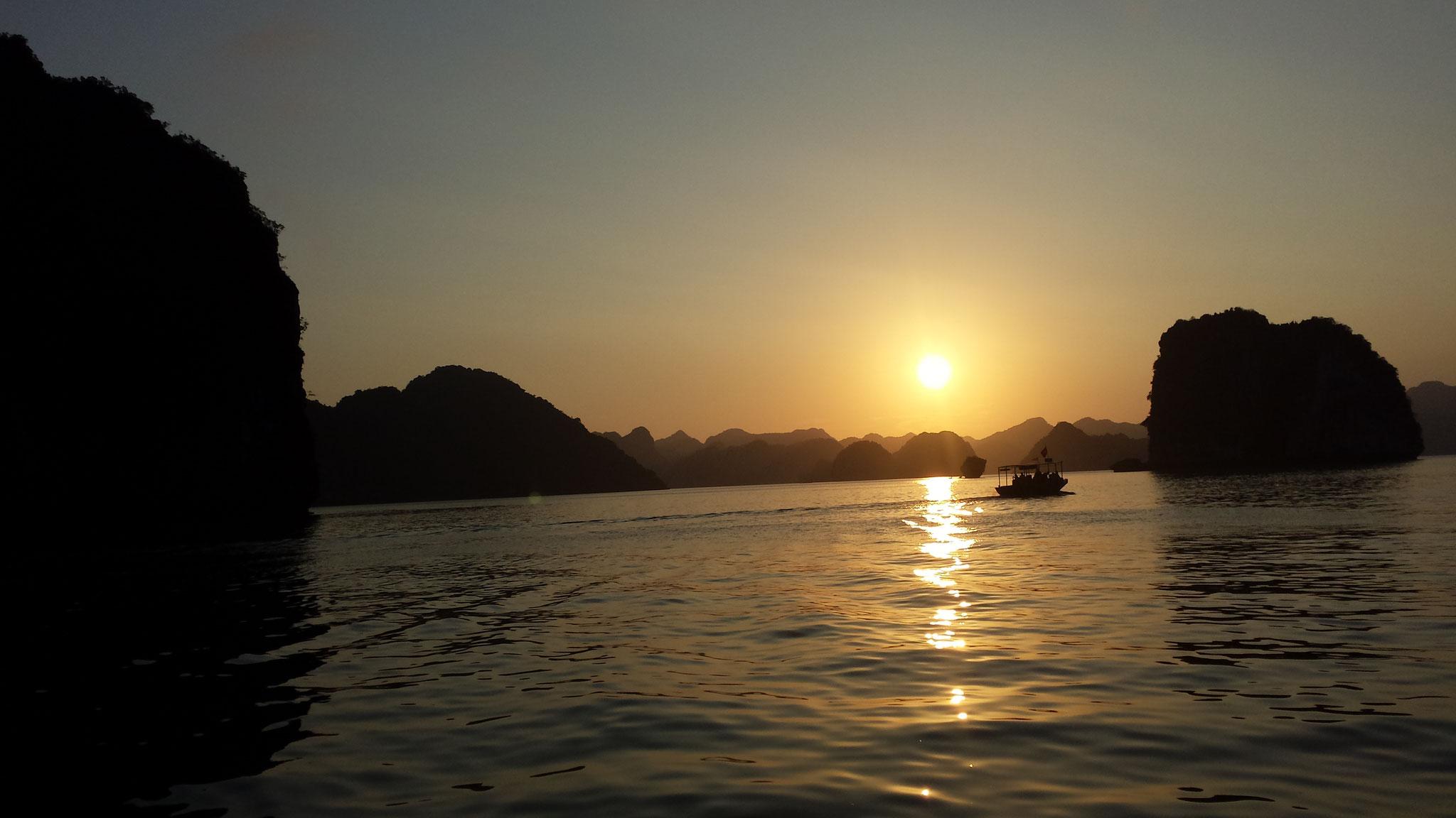 Perfect Dawn Halong Bay