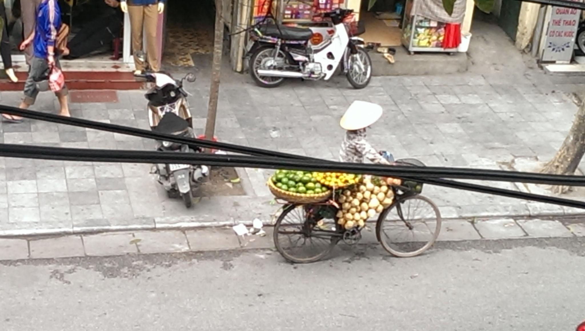 Straßenhändler Hanoi