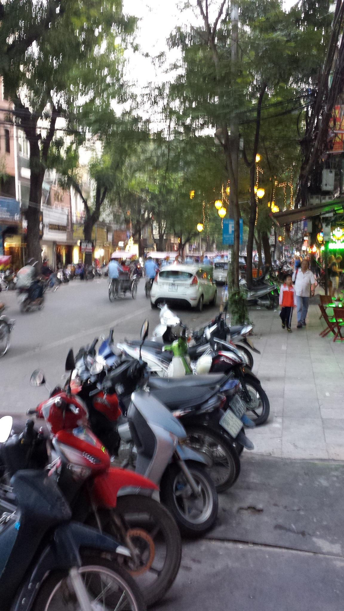 Verkehr Hanoi