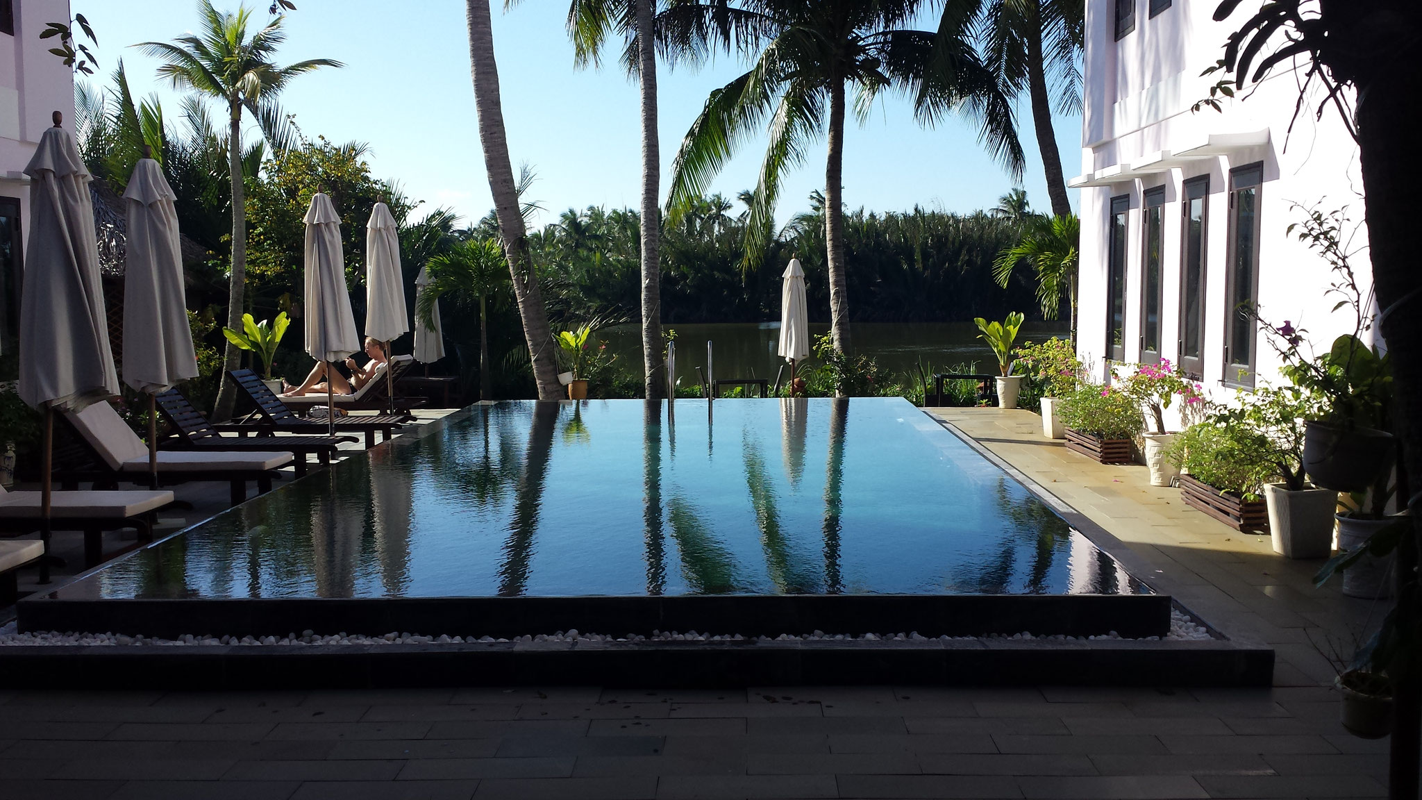 Riverside Garden Villas Hoi An Pool