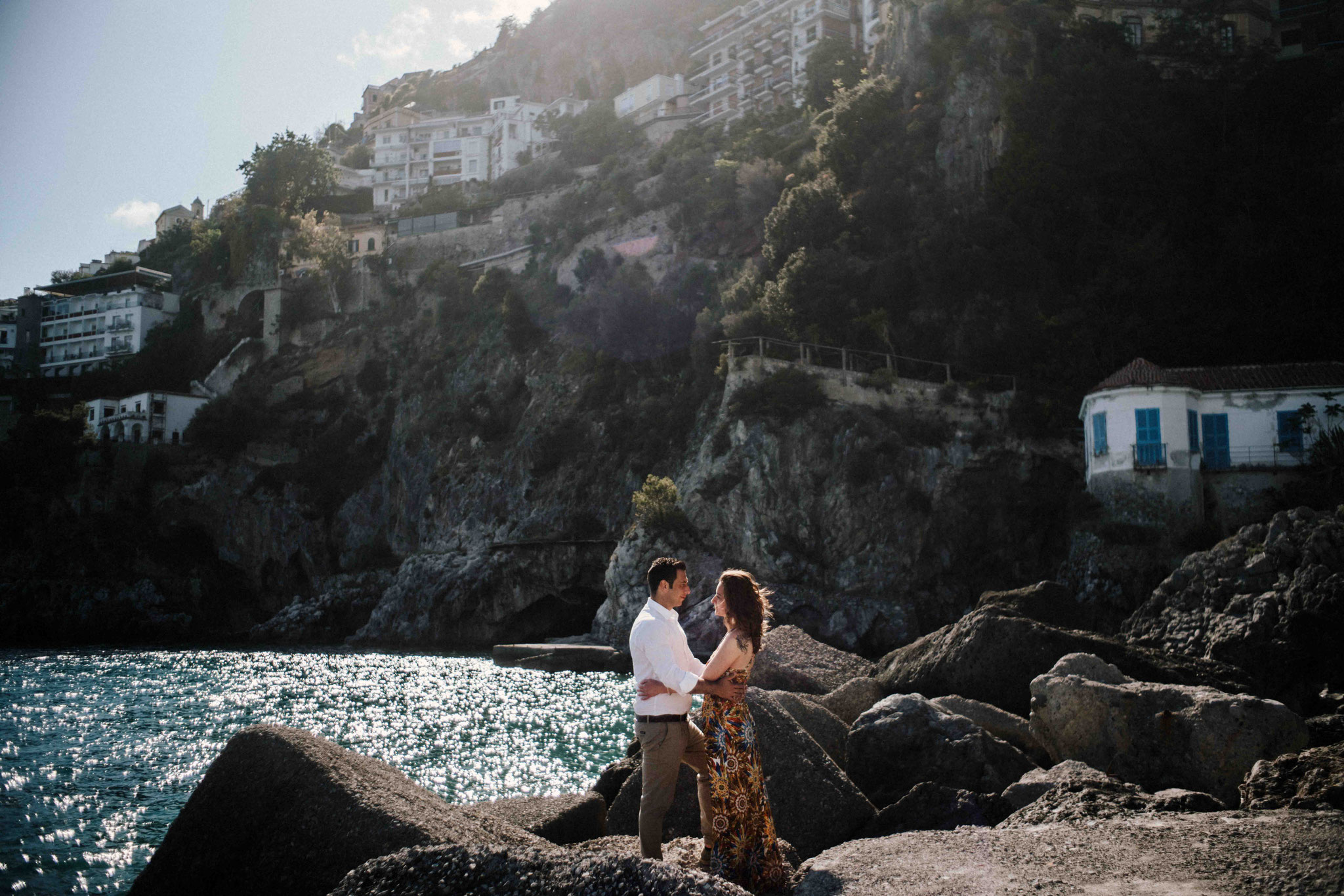 Engagement in Praiano