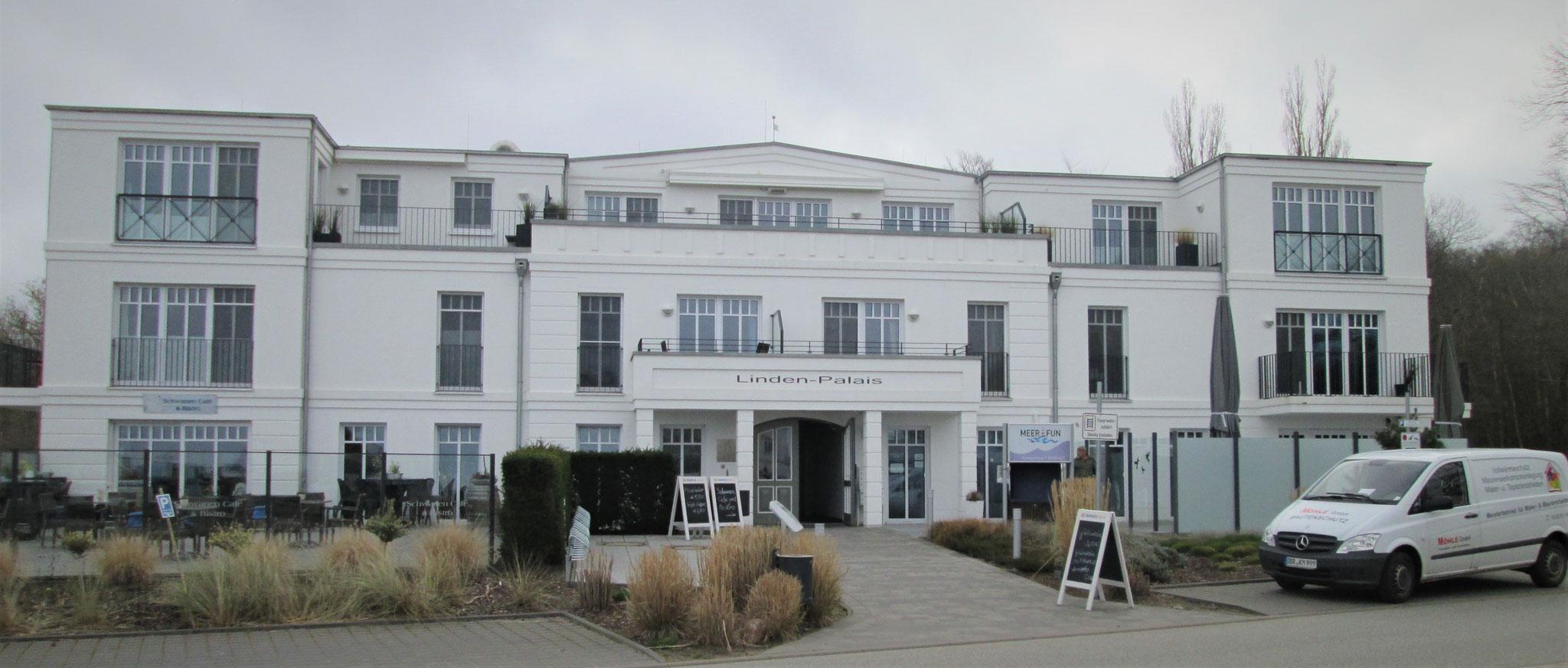 Appartementhaus Linden-Palais in Heiligendamm - Wärmedämmung und Fassadengestaltung