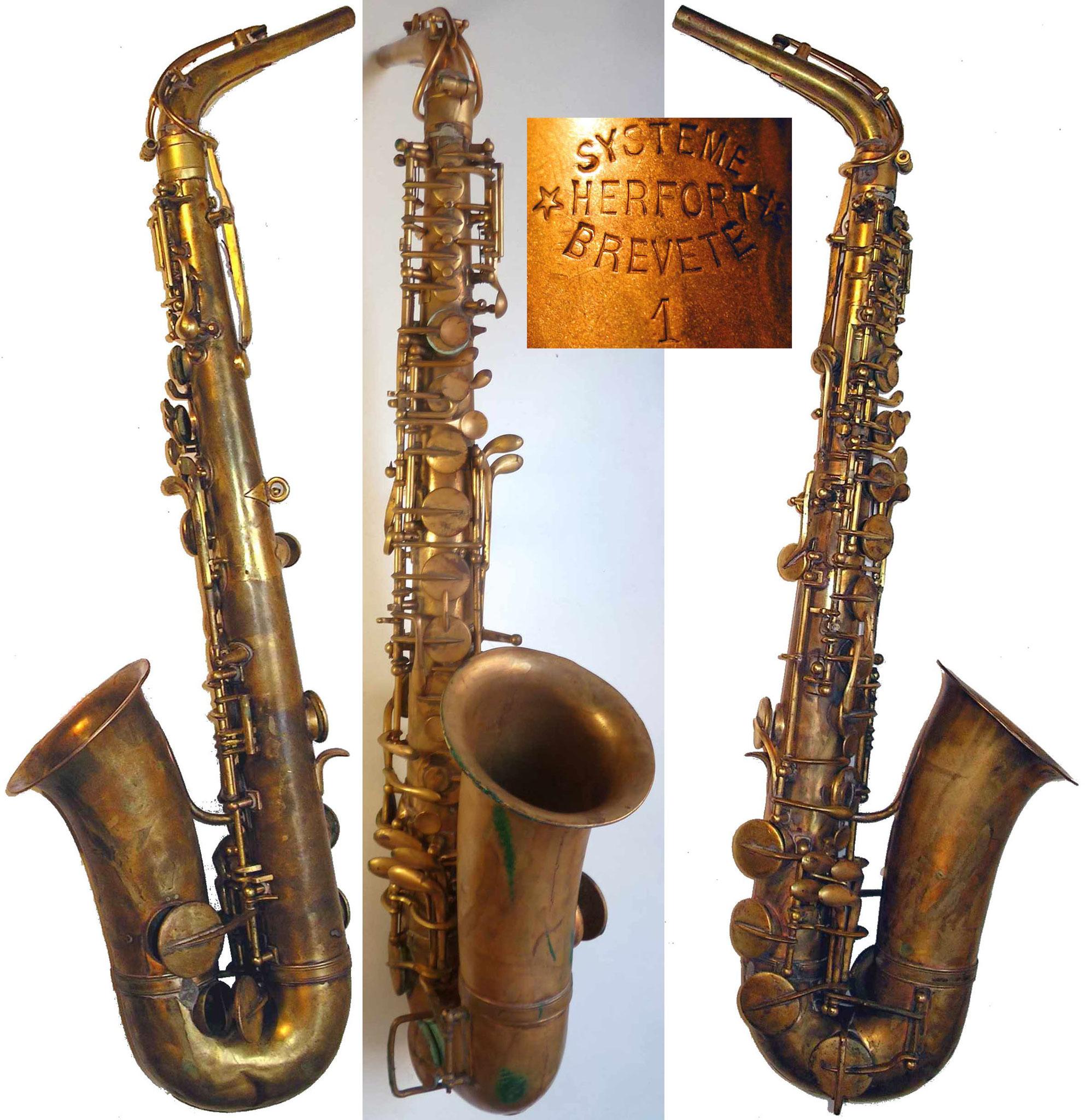 Saxophone n° 656