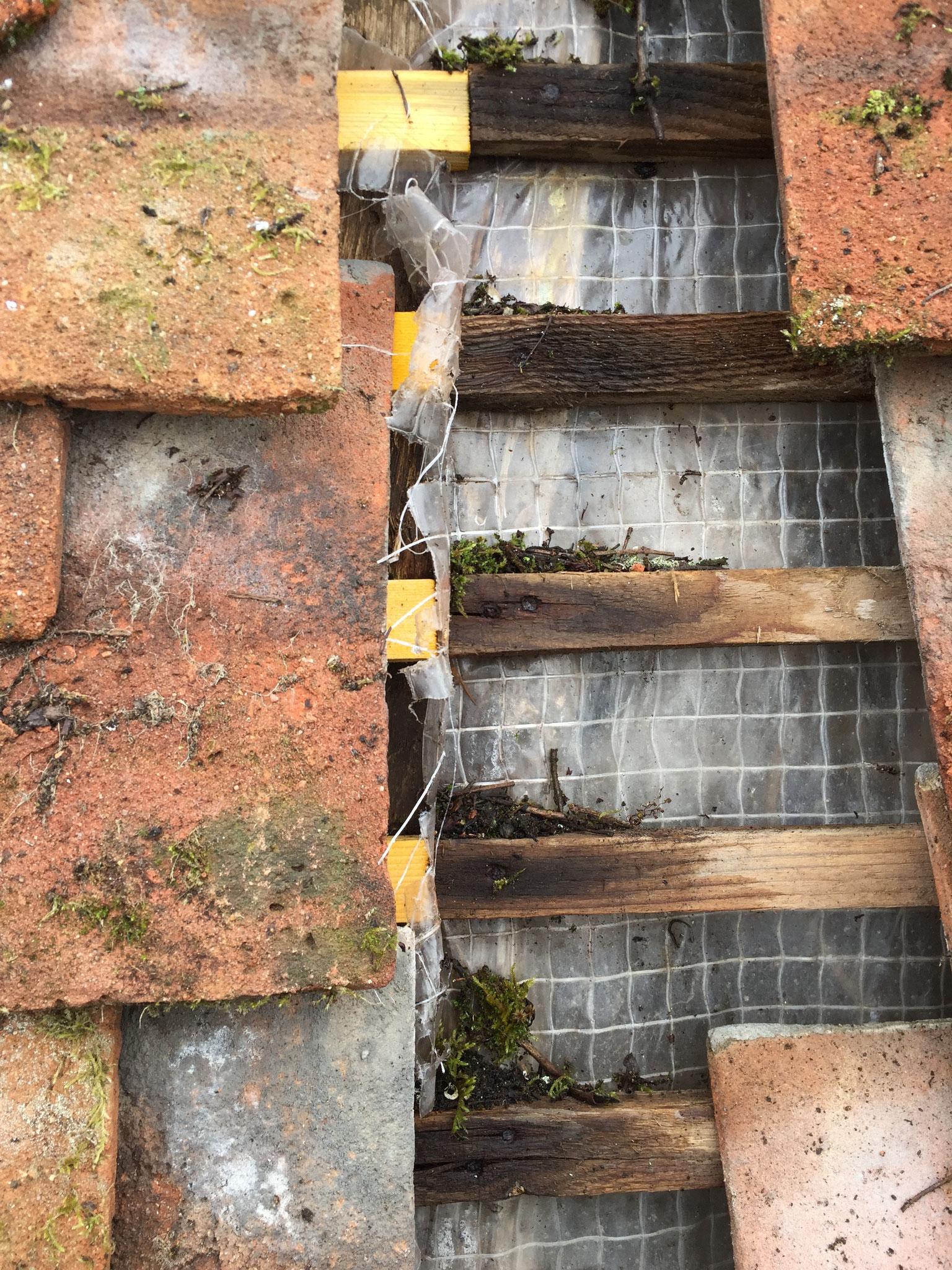 Malfaçon, défaut d'étanchéité sur toiture