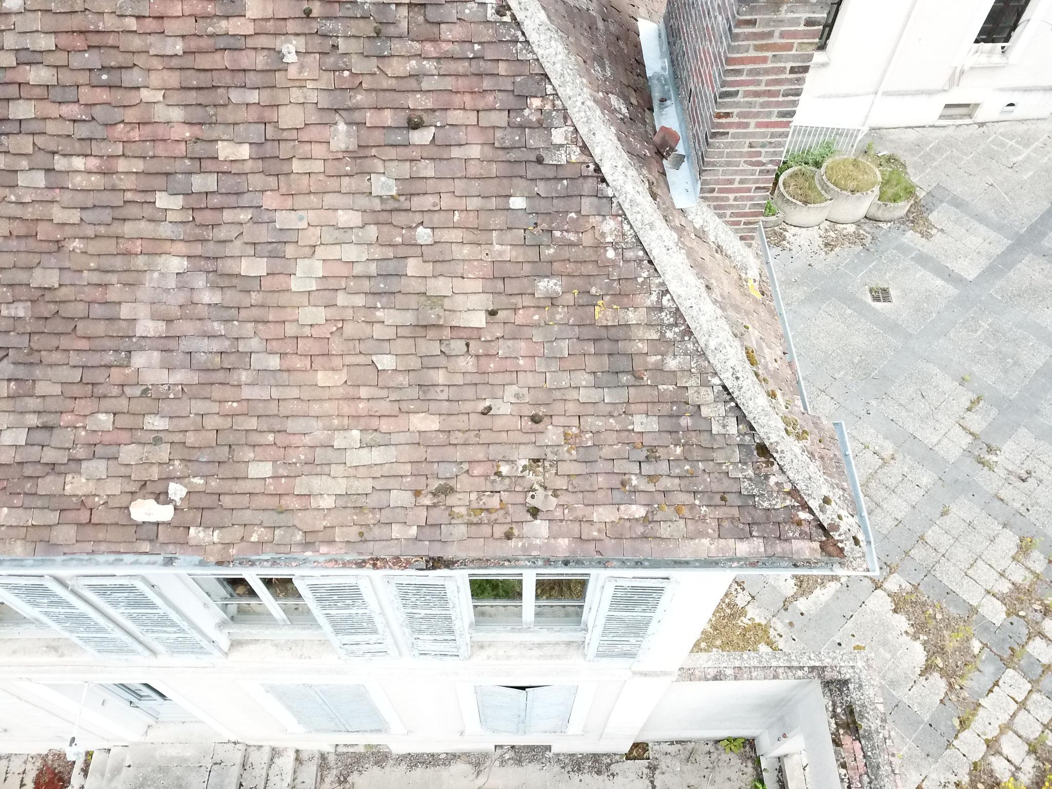 Altération de la toiture : déterminer l'âge d'une maison lors d'une visite avant achat