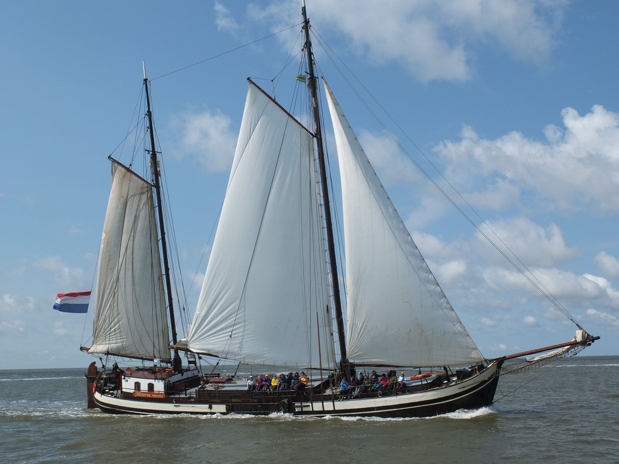 sailing ship Minerva