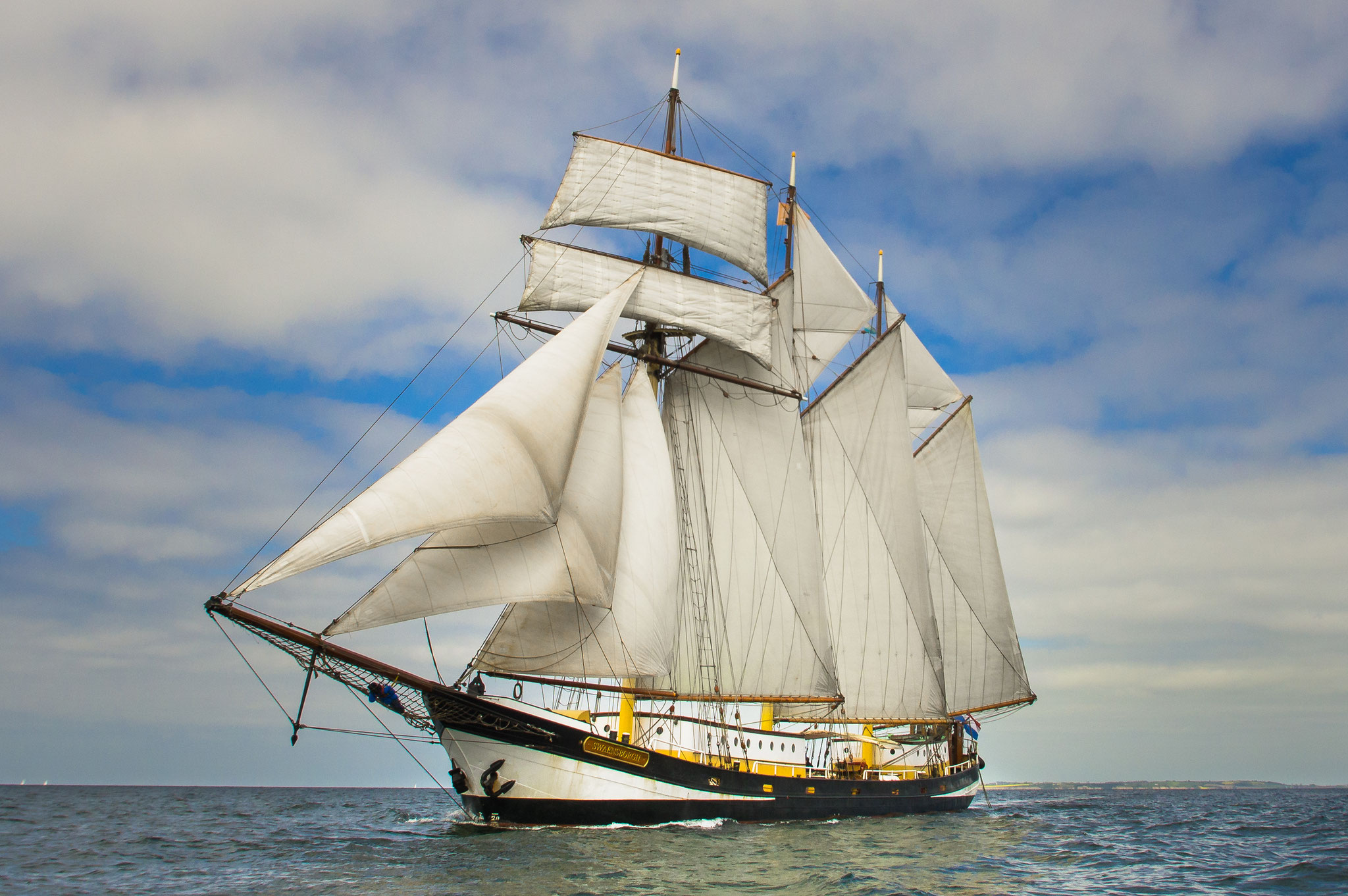 sailing ship Swaensborgh