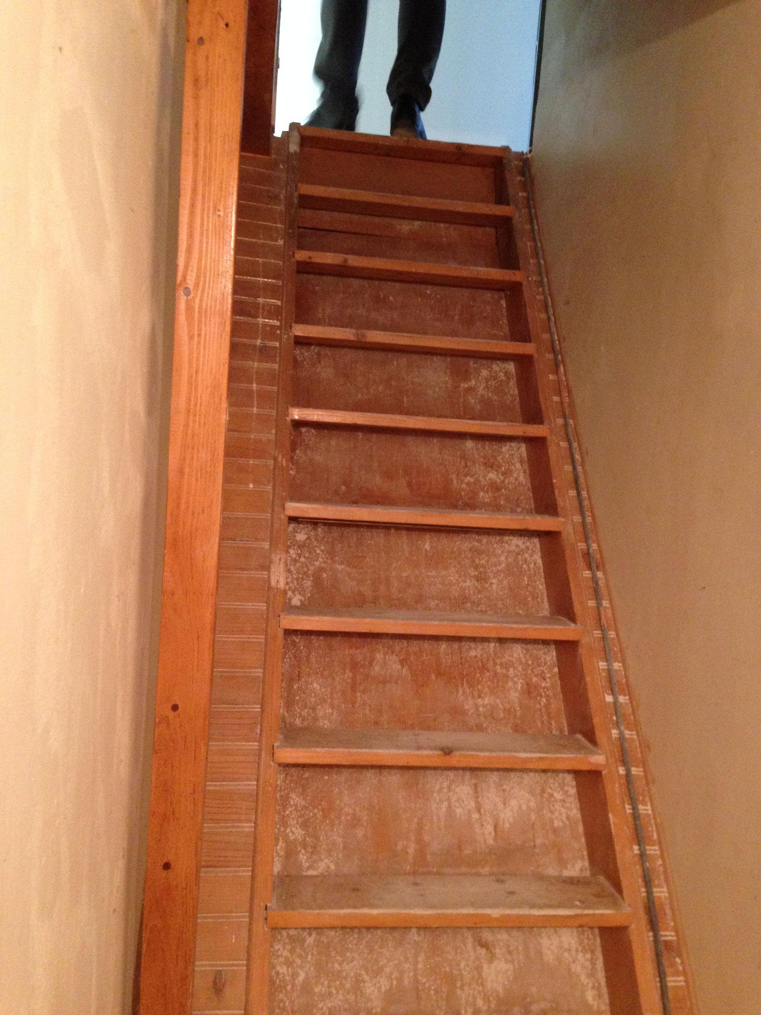 Avant - L'escalier