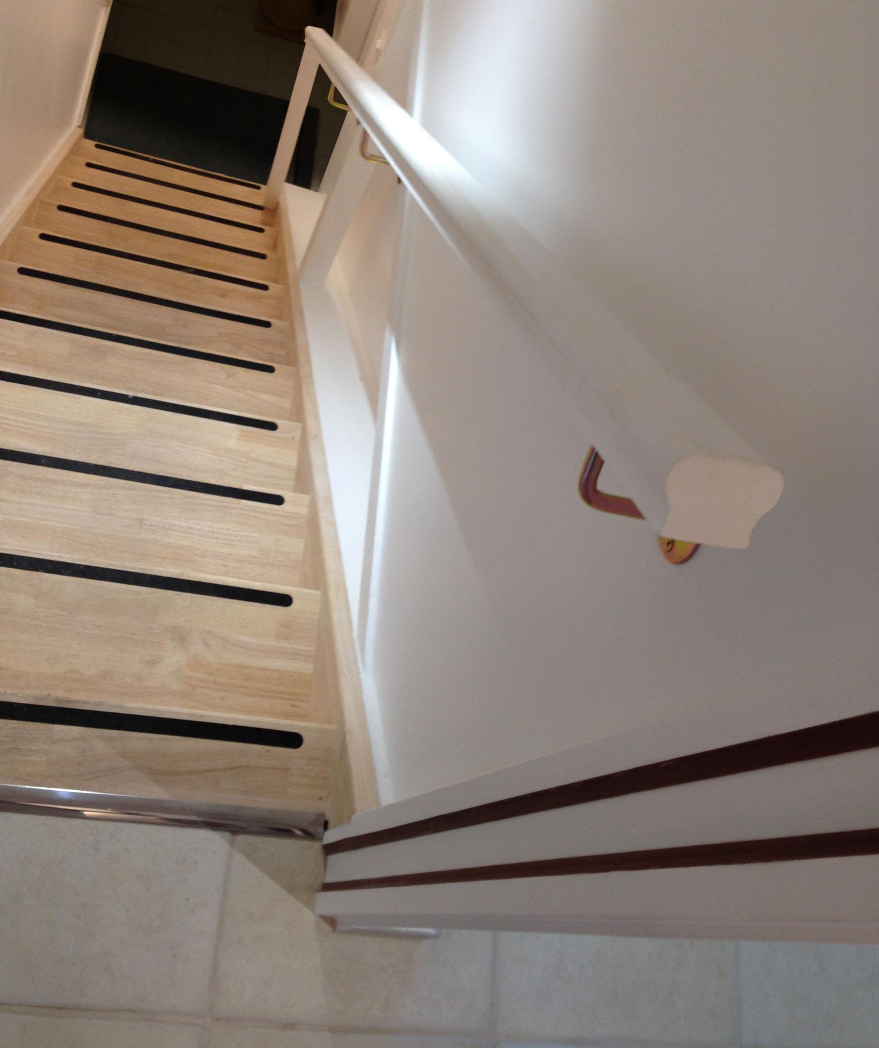 Après - Le nouvel escalier