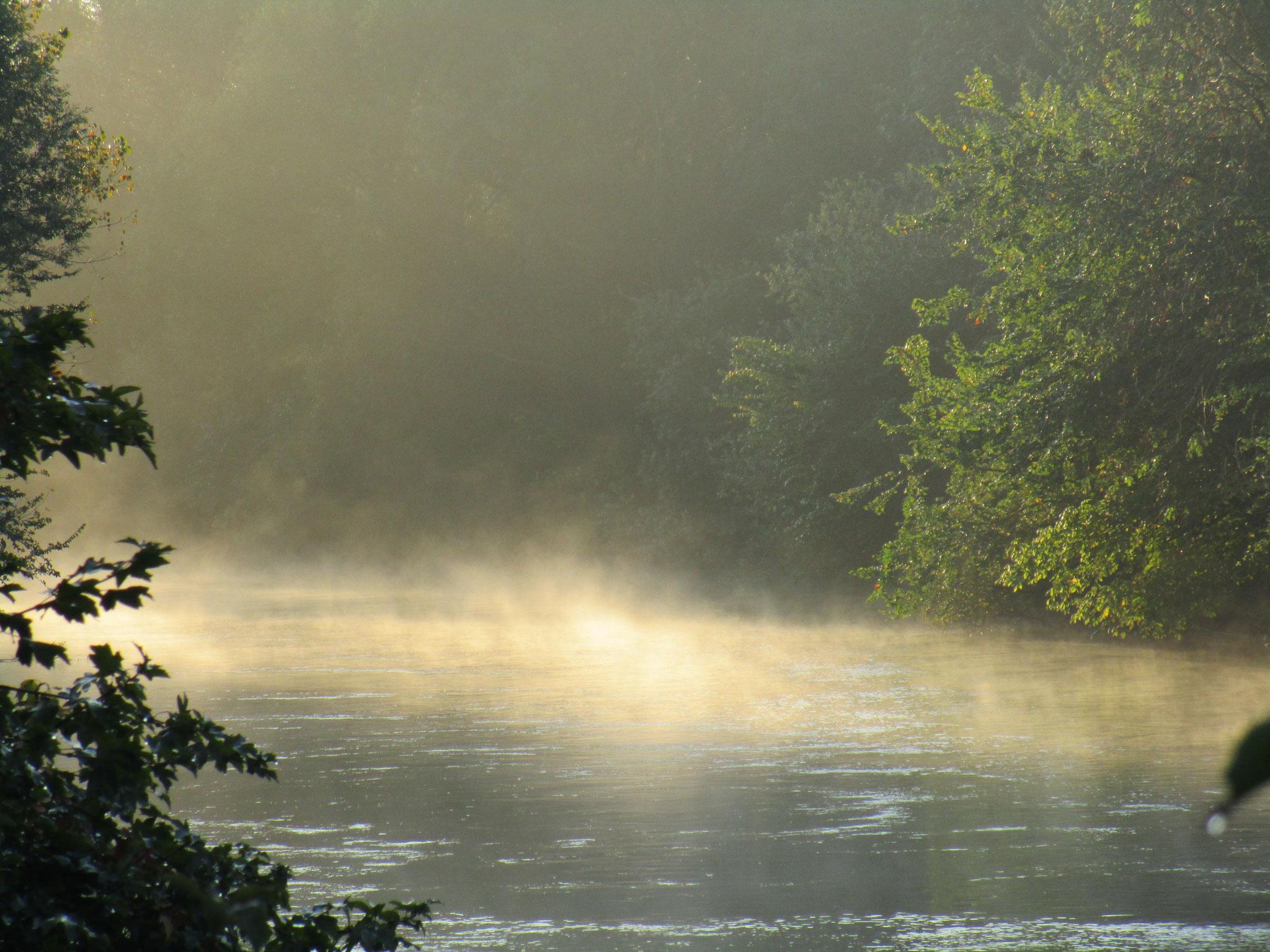 Brume sur la Seine