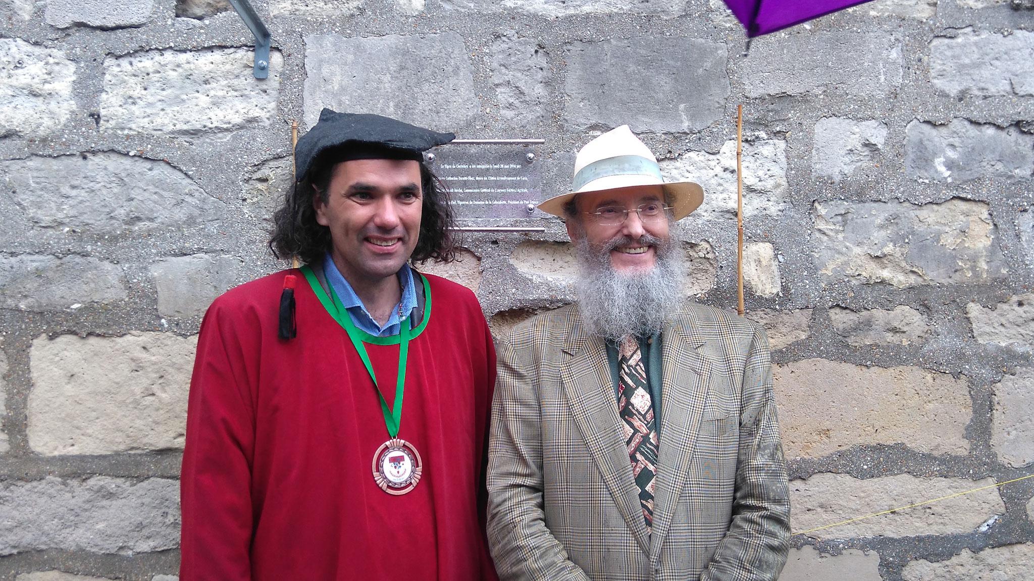 Vincent Pugibet et Patrice Bersac, membres fondateur de PIWI France
