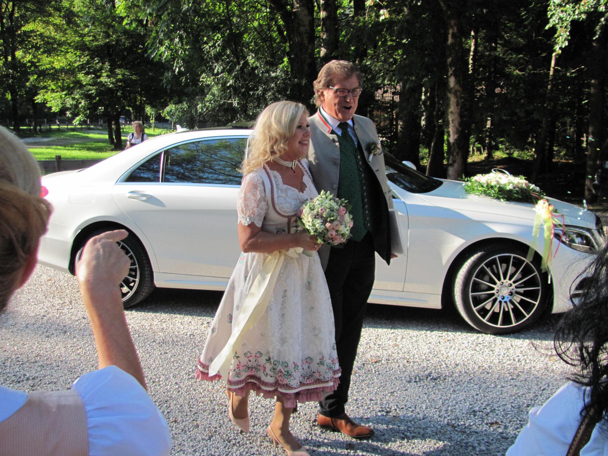 Brautpaar Mariane und Michael