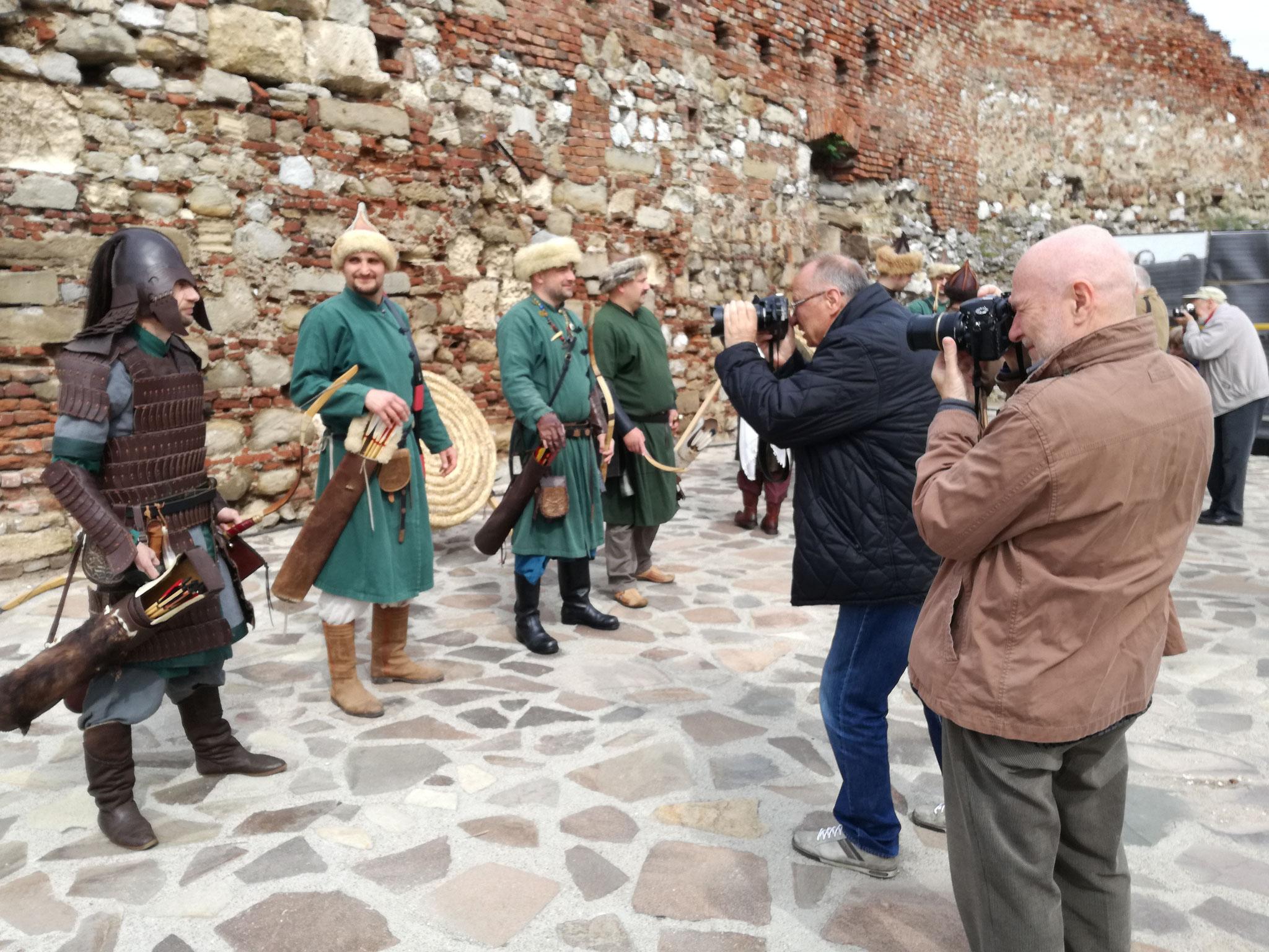 Atelier de creație în Cetatea Medievală  (Lupii din Pustă, Clanul Ordas)
