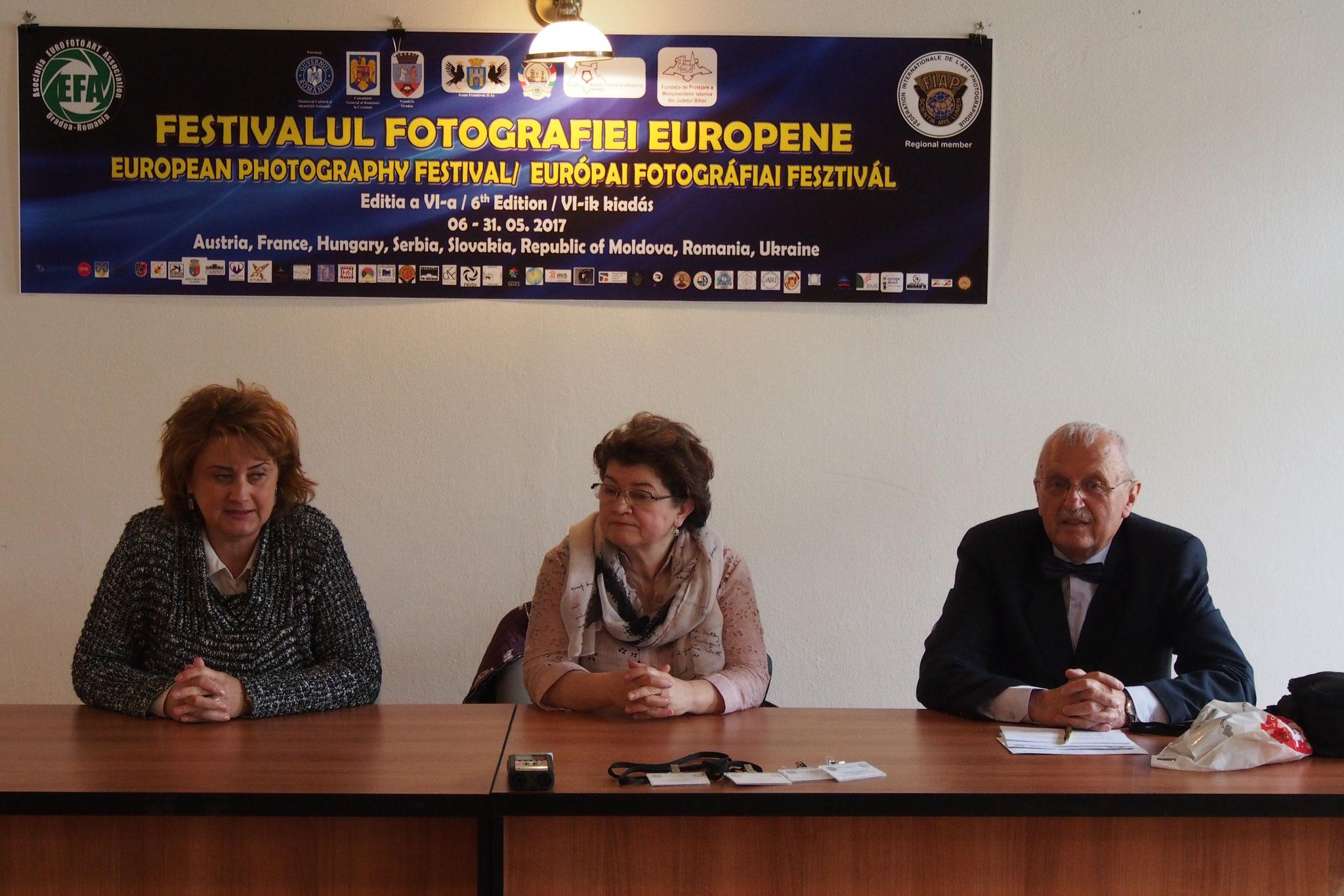 Festivitatea de lansare a Festivalul European de Fotografie