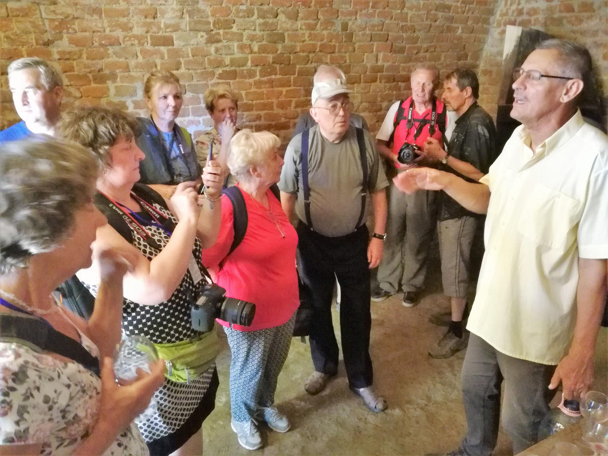 Látogatóban  egy Szalacs-I pincében