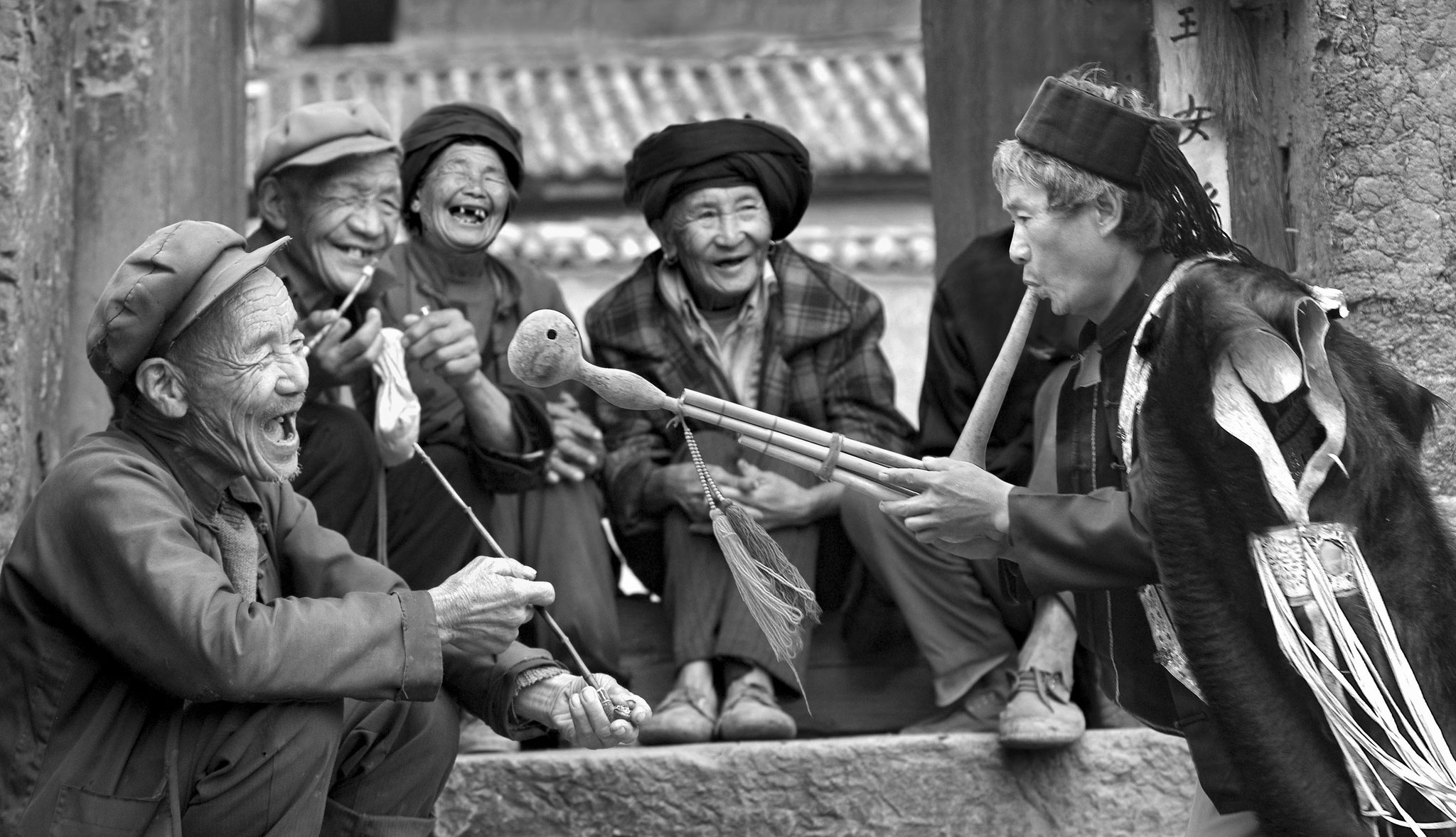 ZHU Ruisheng (China) - Happy smile