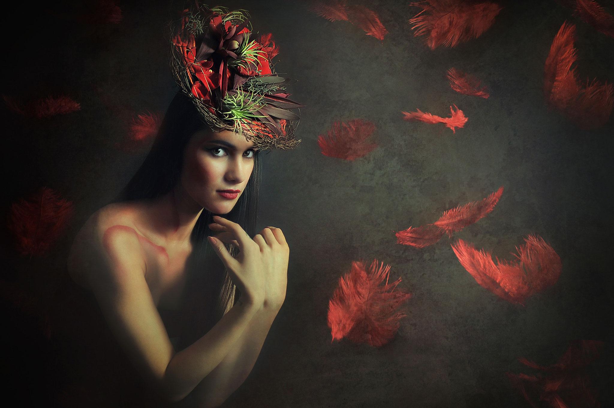 Rusu Adela Lia EFIAPb (Romania) - Red Rain