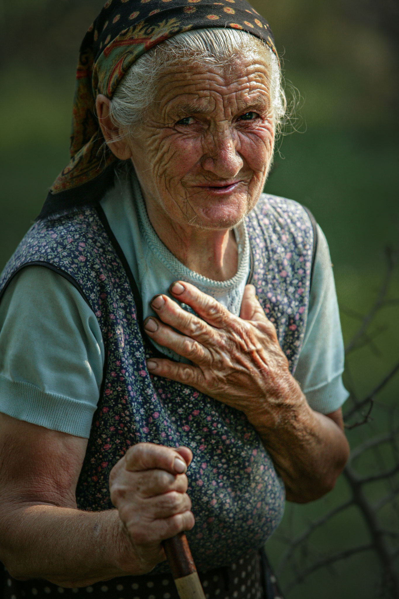 Volodimir Norba AFIAP (Ukraine) - Vilshynky grandma