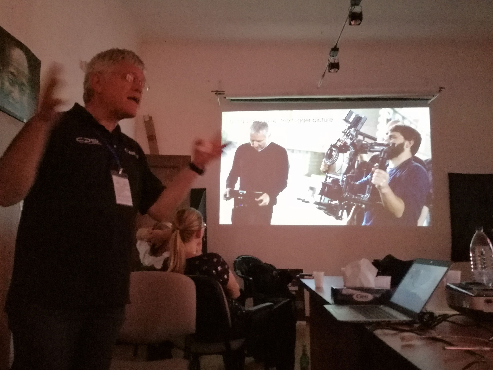Presentation of CANON cameras