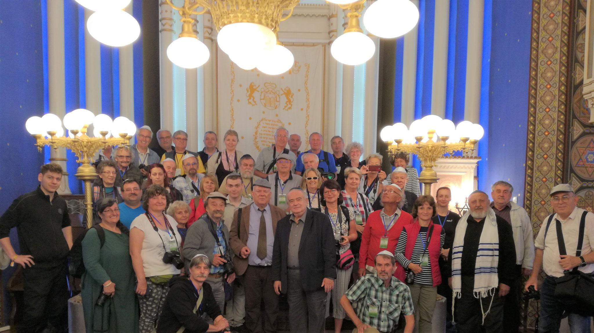 Az ortodox zsinagógában