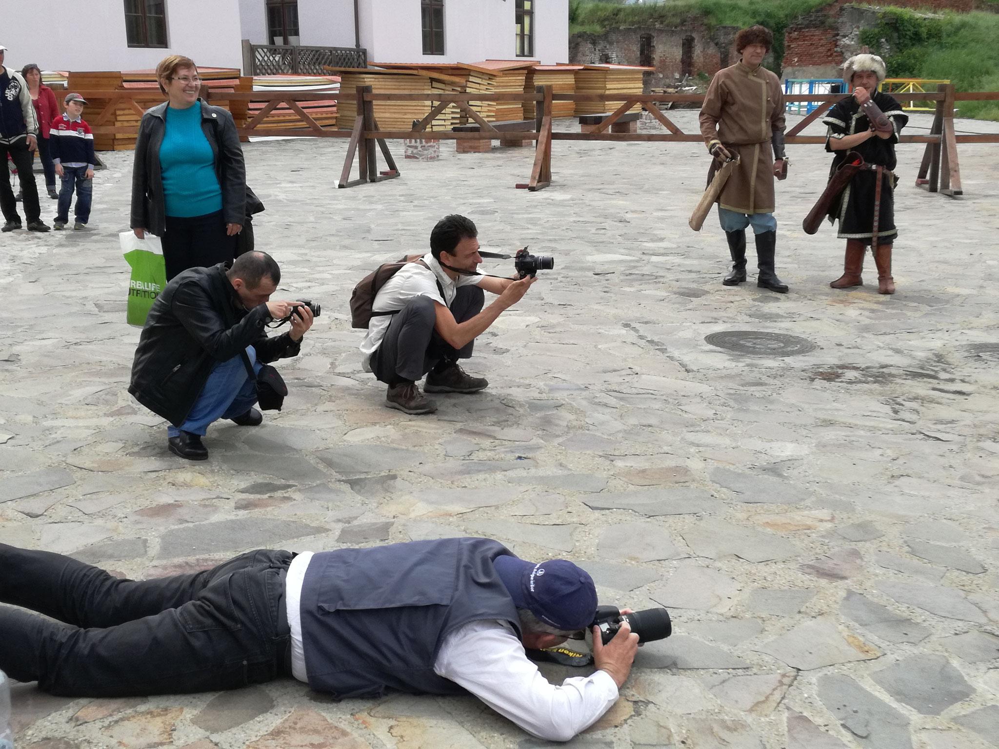 Fotóalkotói mühely a Várban (Pusztai Farkasok - Ordas Nemzetkség)