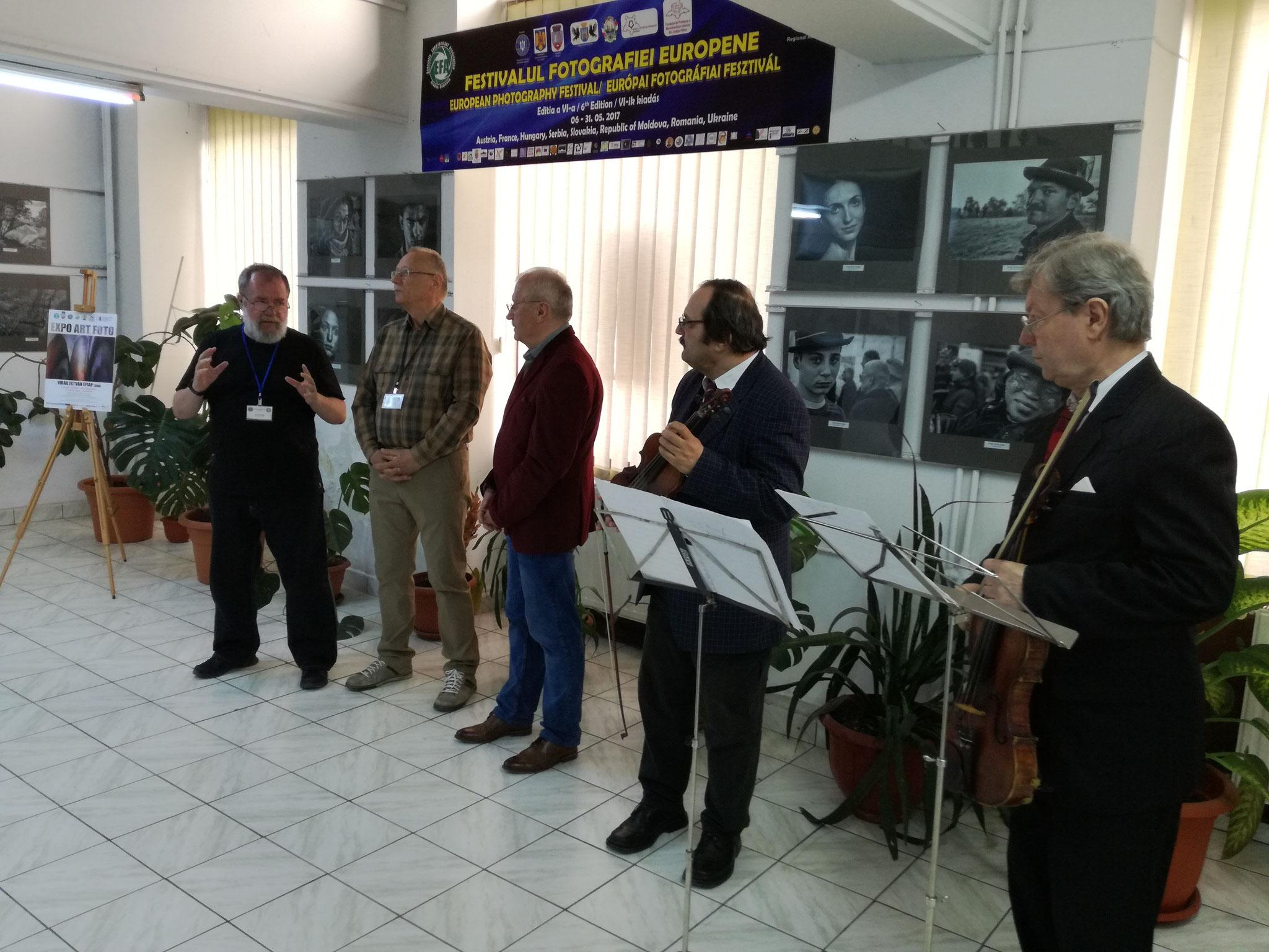 Vernisajul expoziției personale Virág István EFIAP, Sombor (SRB)