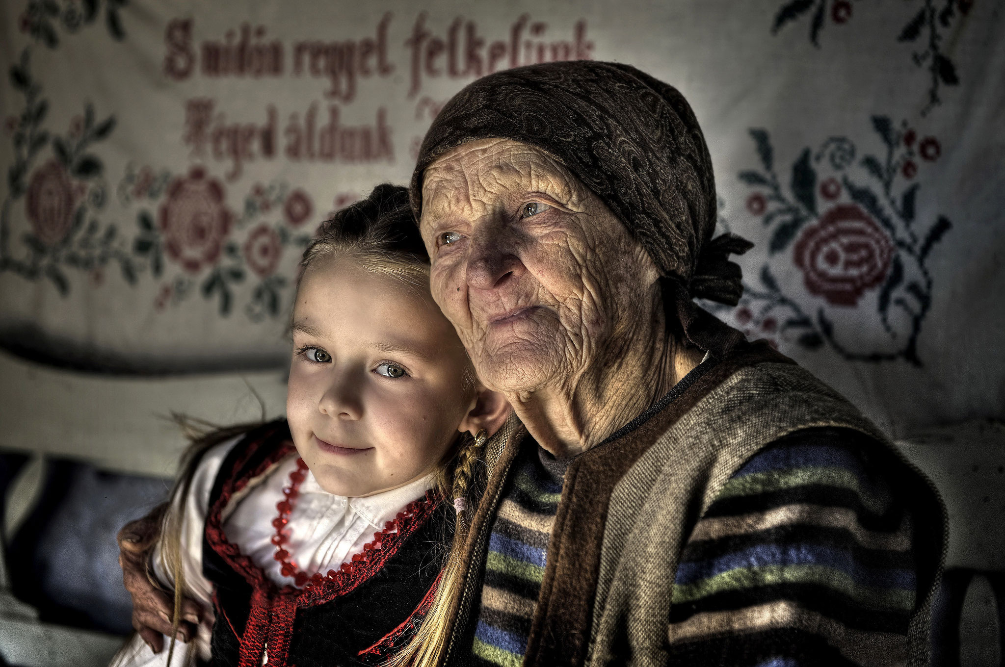 Tordai Ede EFIAPs (Romania) - With greatmother