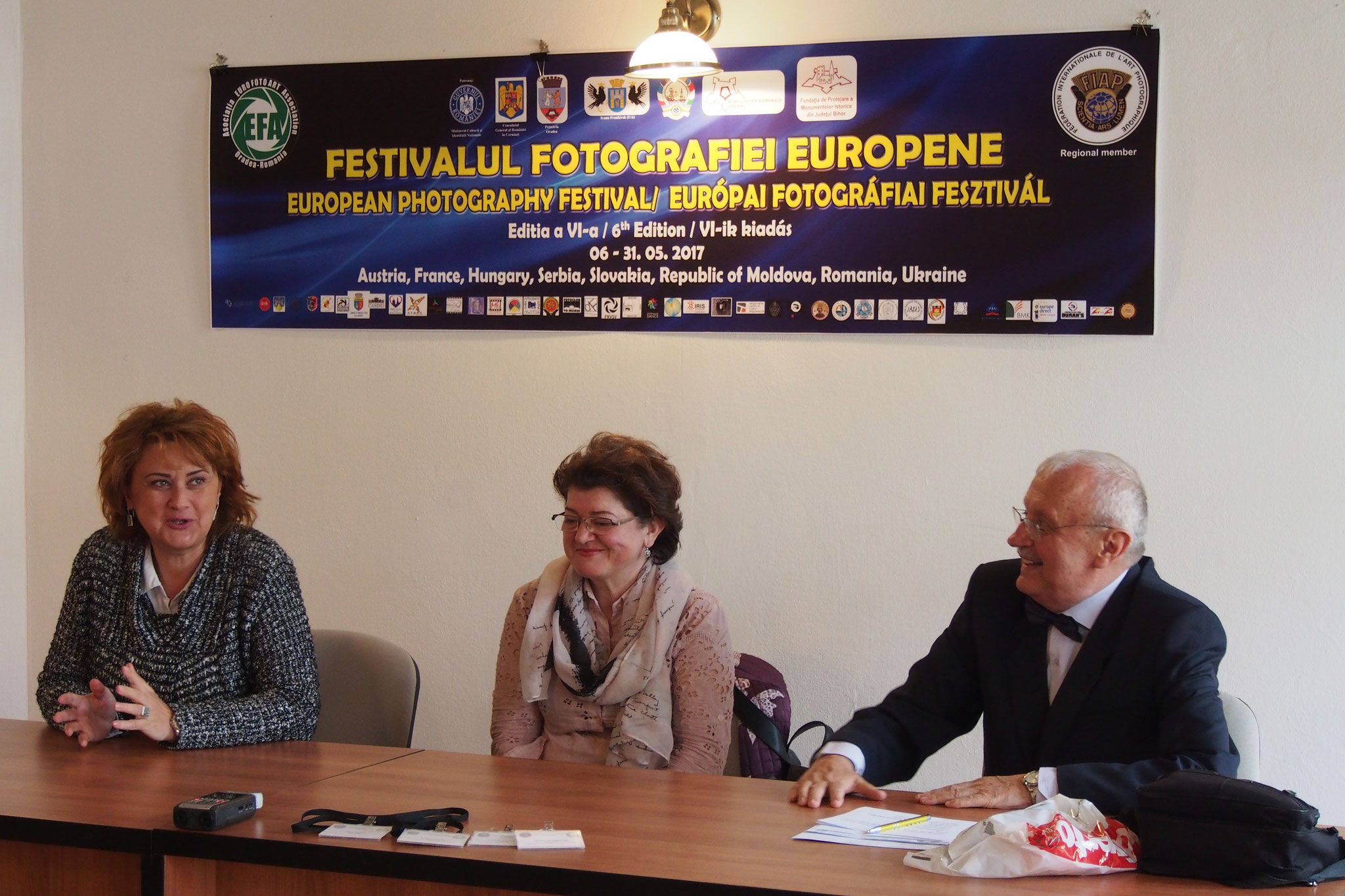 The launching of the European Photograph Festival