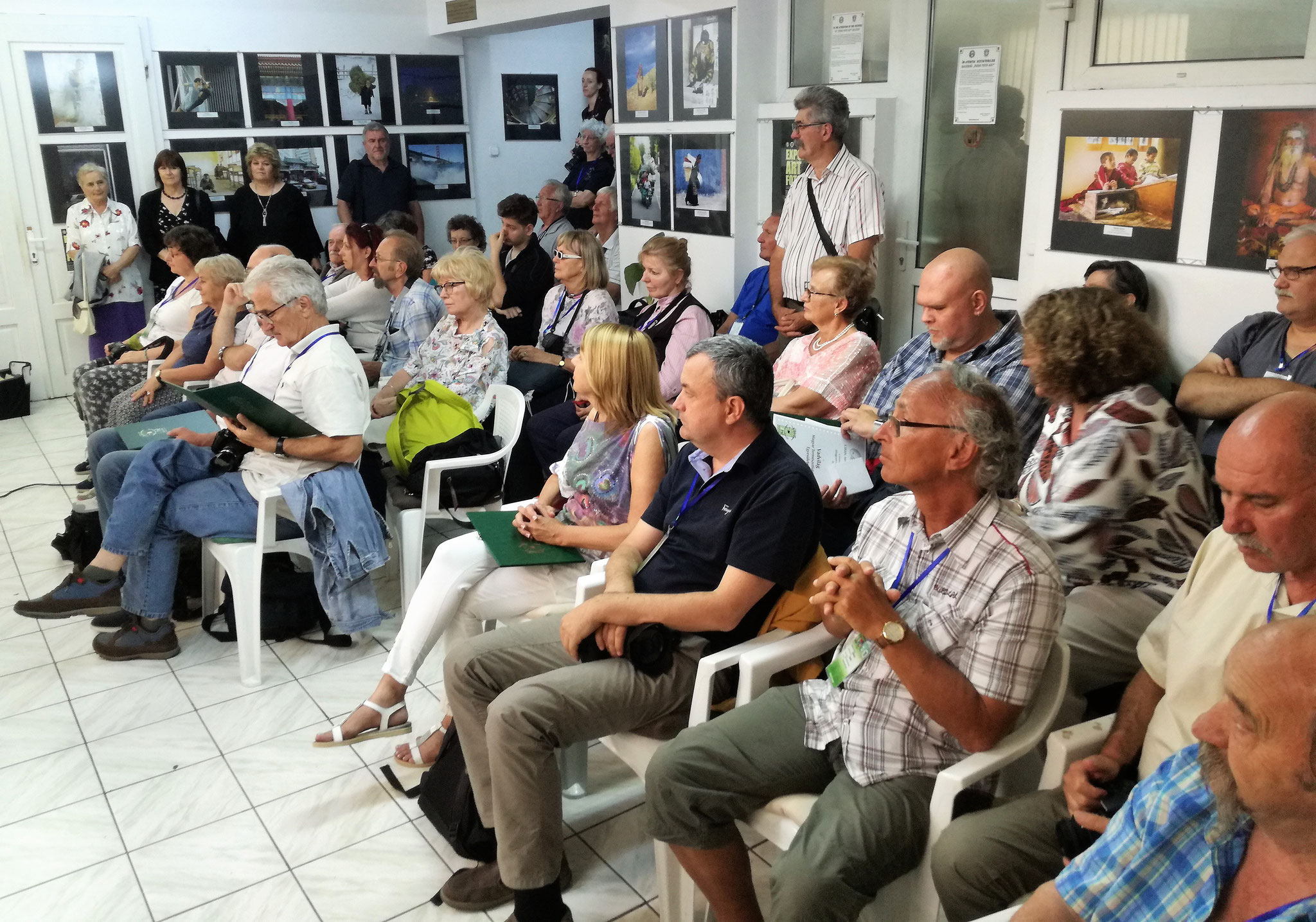 Exhibition of participants in Euro Photo Art Gallery