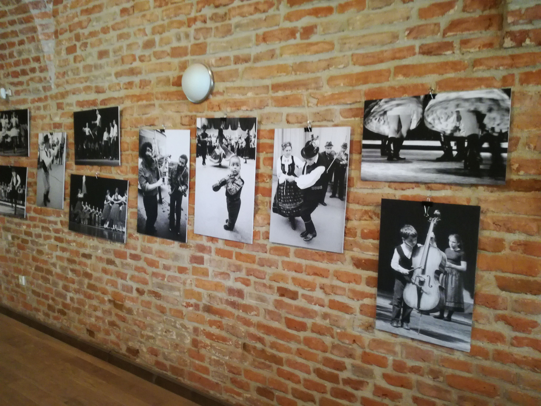 The opening of Süli István's AFIAP (Debrecen - HU) personal exhibit