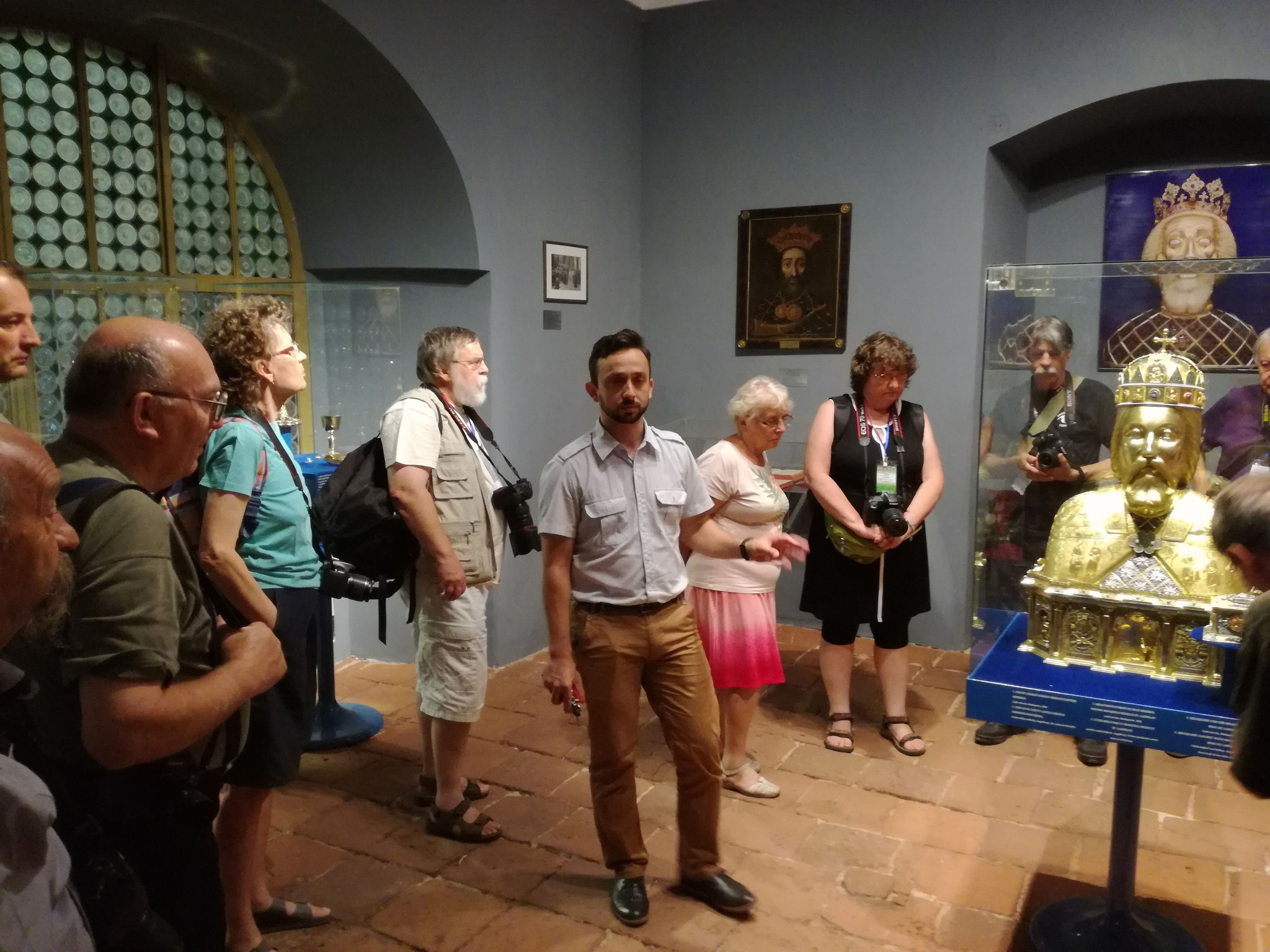 A Római katólikus Bazilika Múzeumában