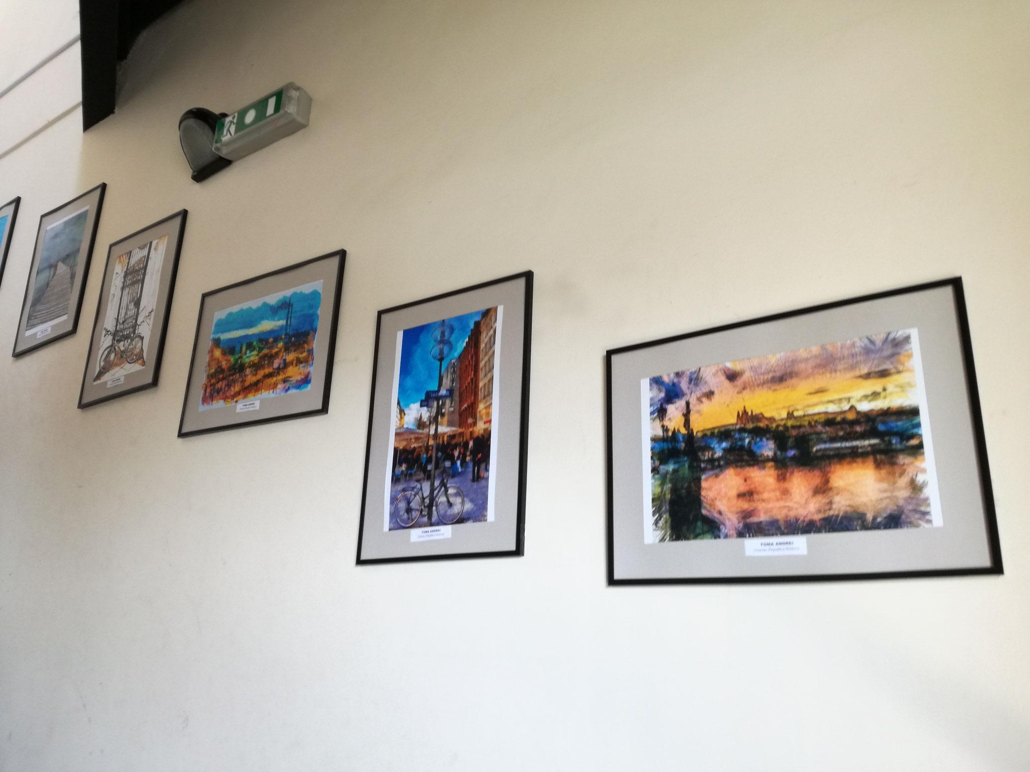 Vernisajul expoziției personale Toma Andrei, Chișinău (MD)