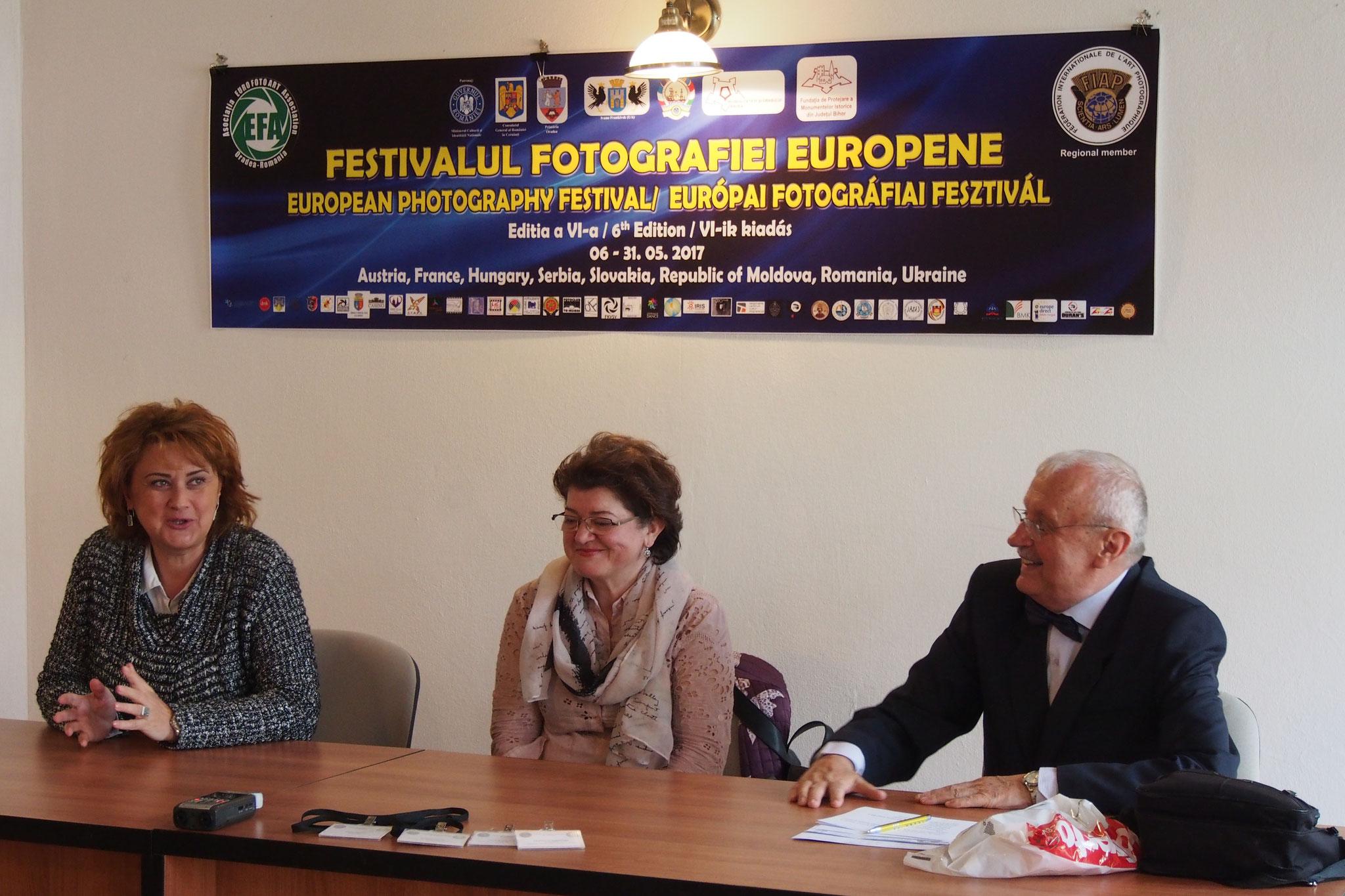 VI-ik Európai Fotográfiai Fesztivál megnyitója
