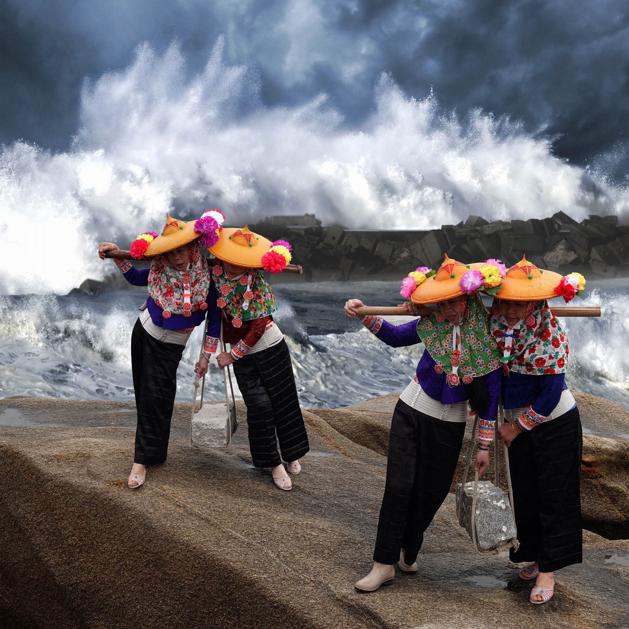 SHE Jiahu (China) -Tempestuous waves