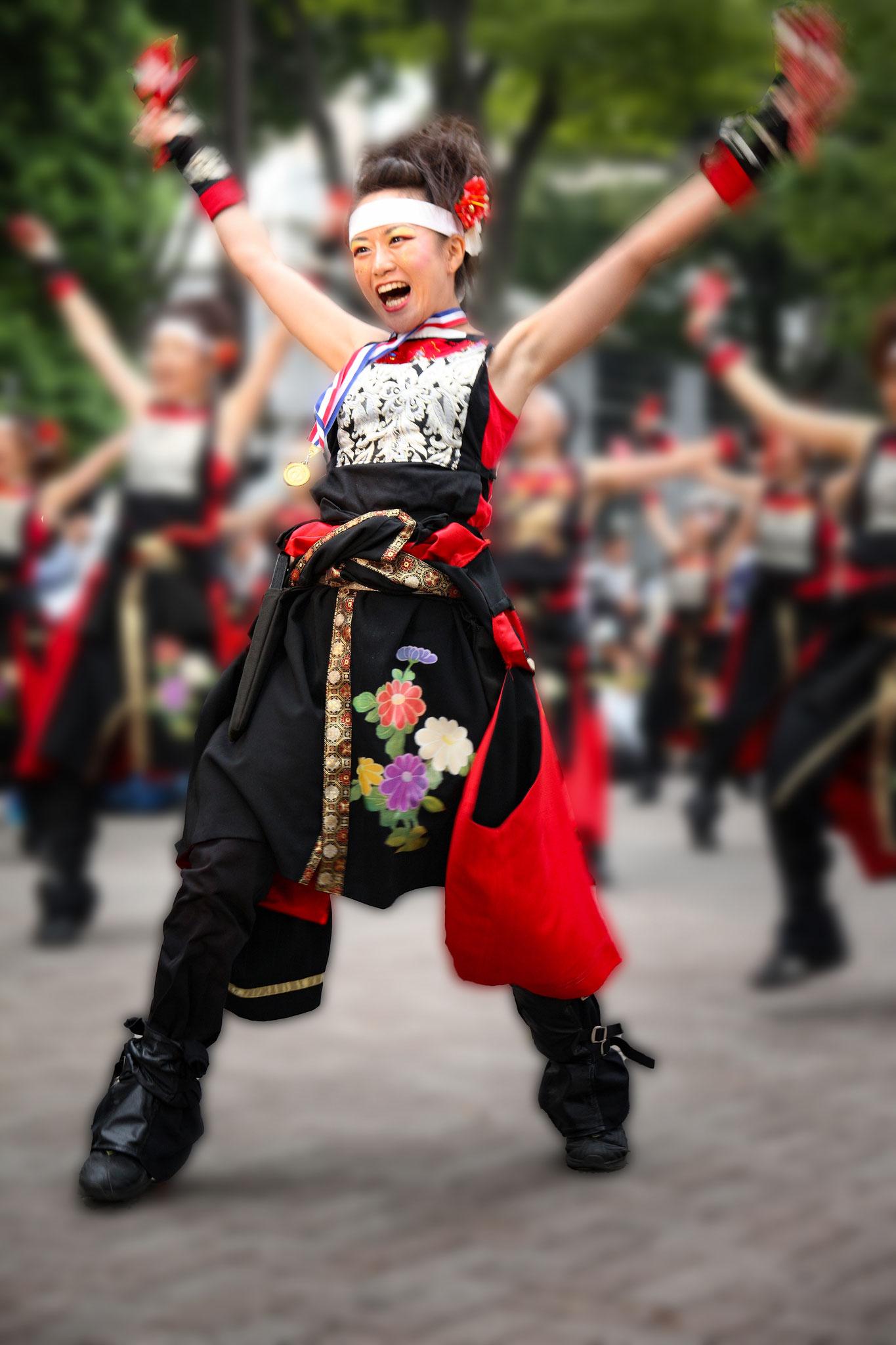Chigira Keiko  (Japan) - Enthusiastic performance