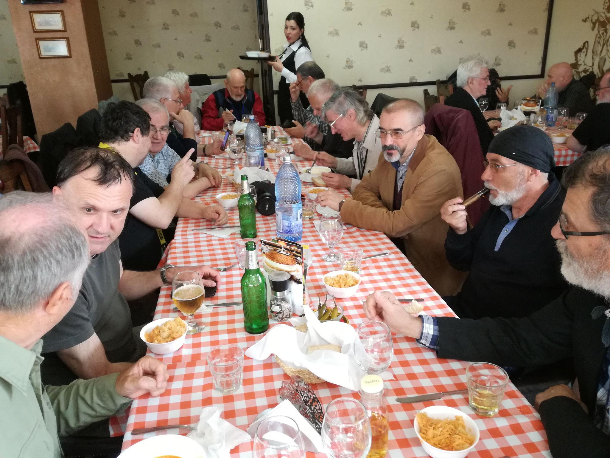 Európai Fotográfiai Fesztivá résztvevőinek jó étvágya