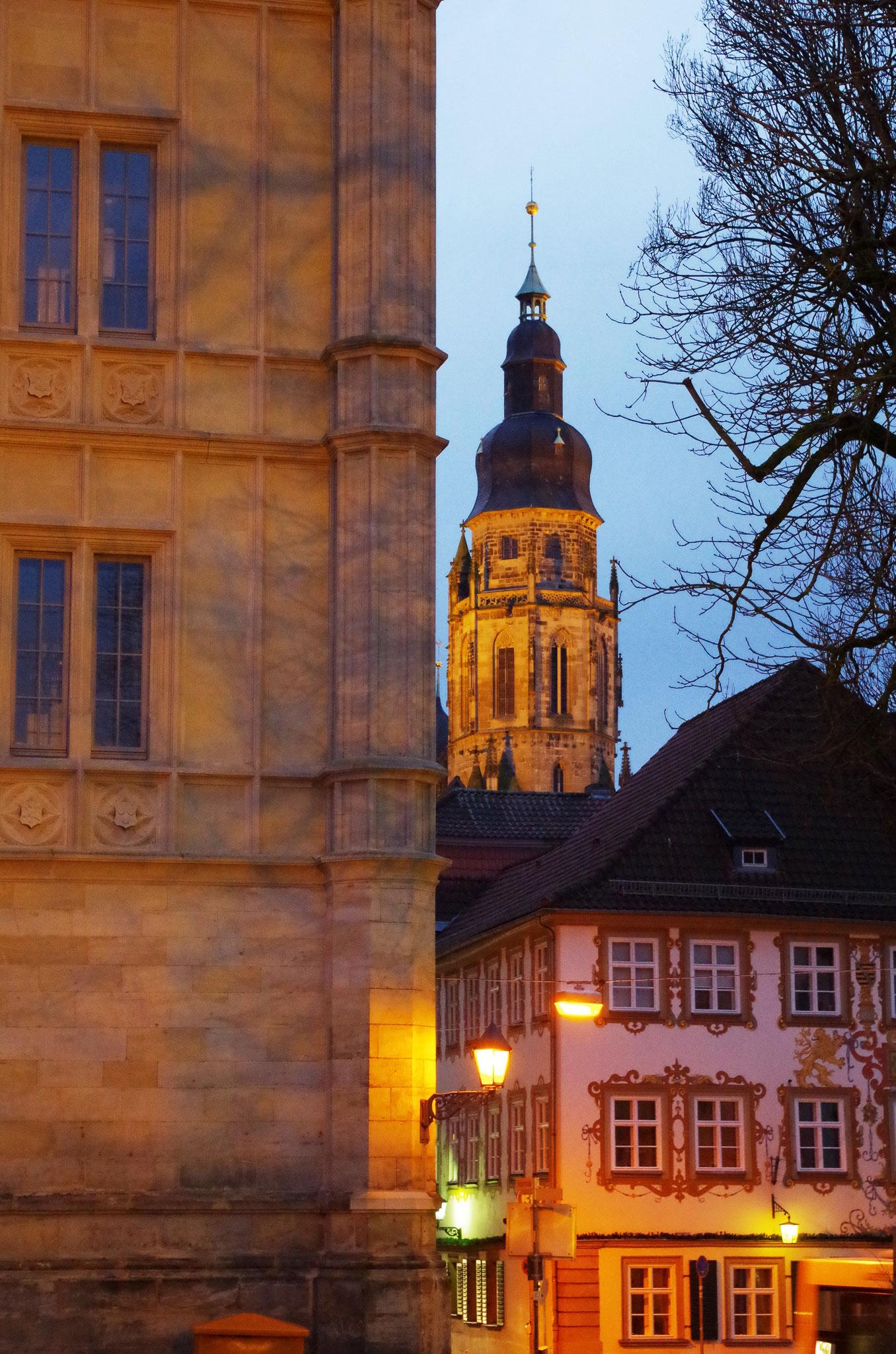 Blick vom Schlossplatz