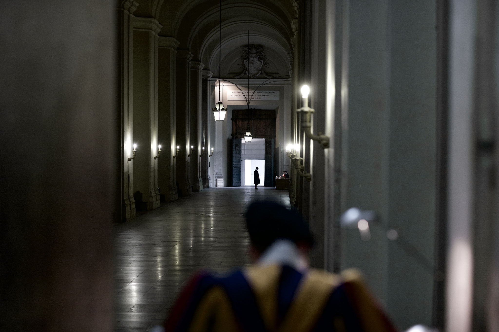 Swiss Guards in Braccio di Constantino.