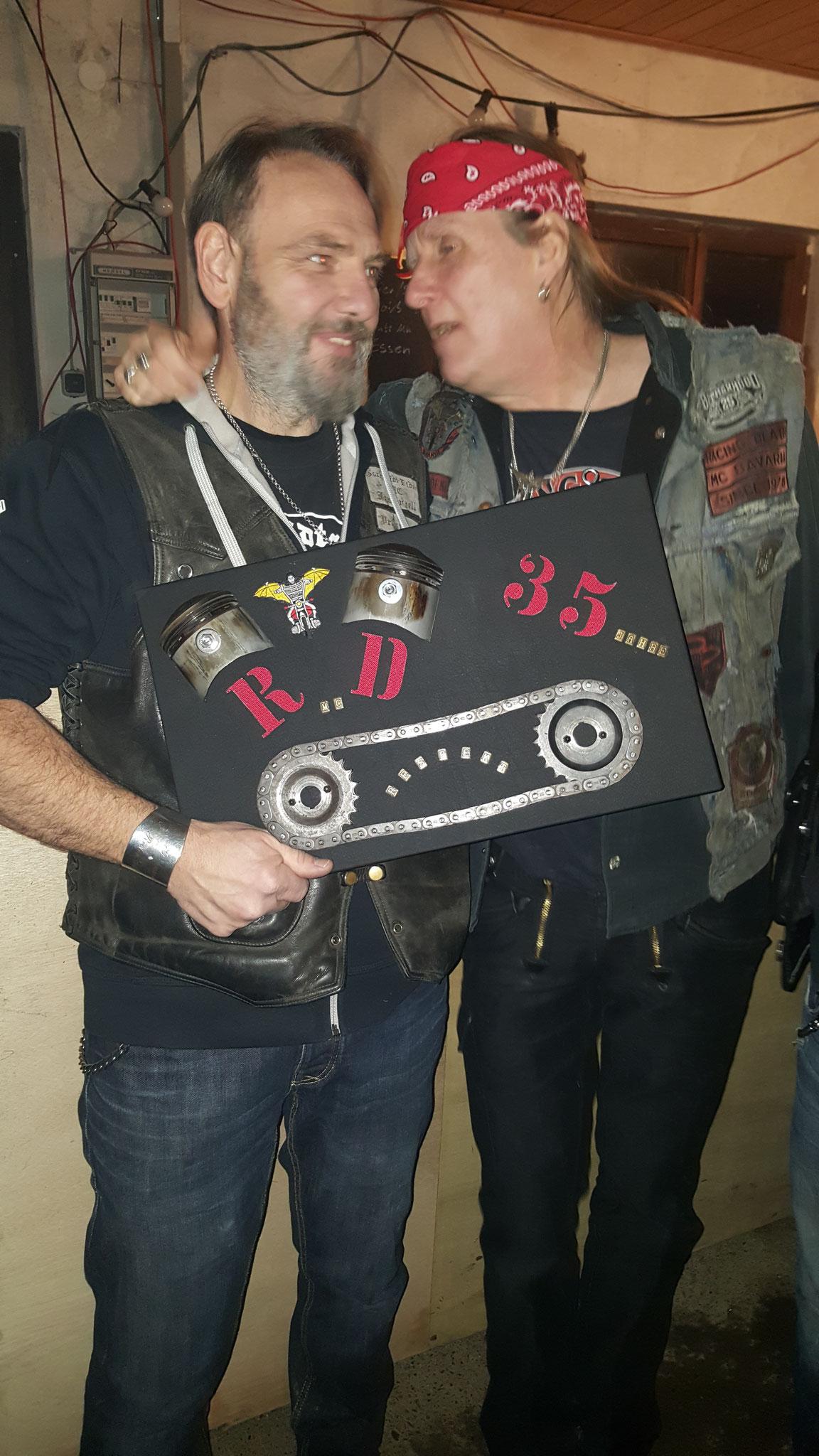 Gschnaidt Rider MC 35 Years