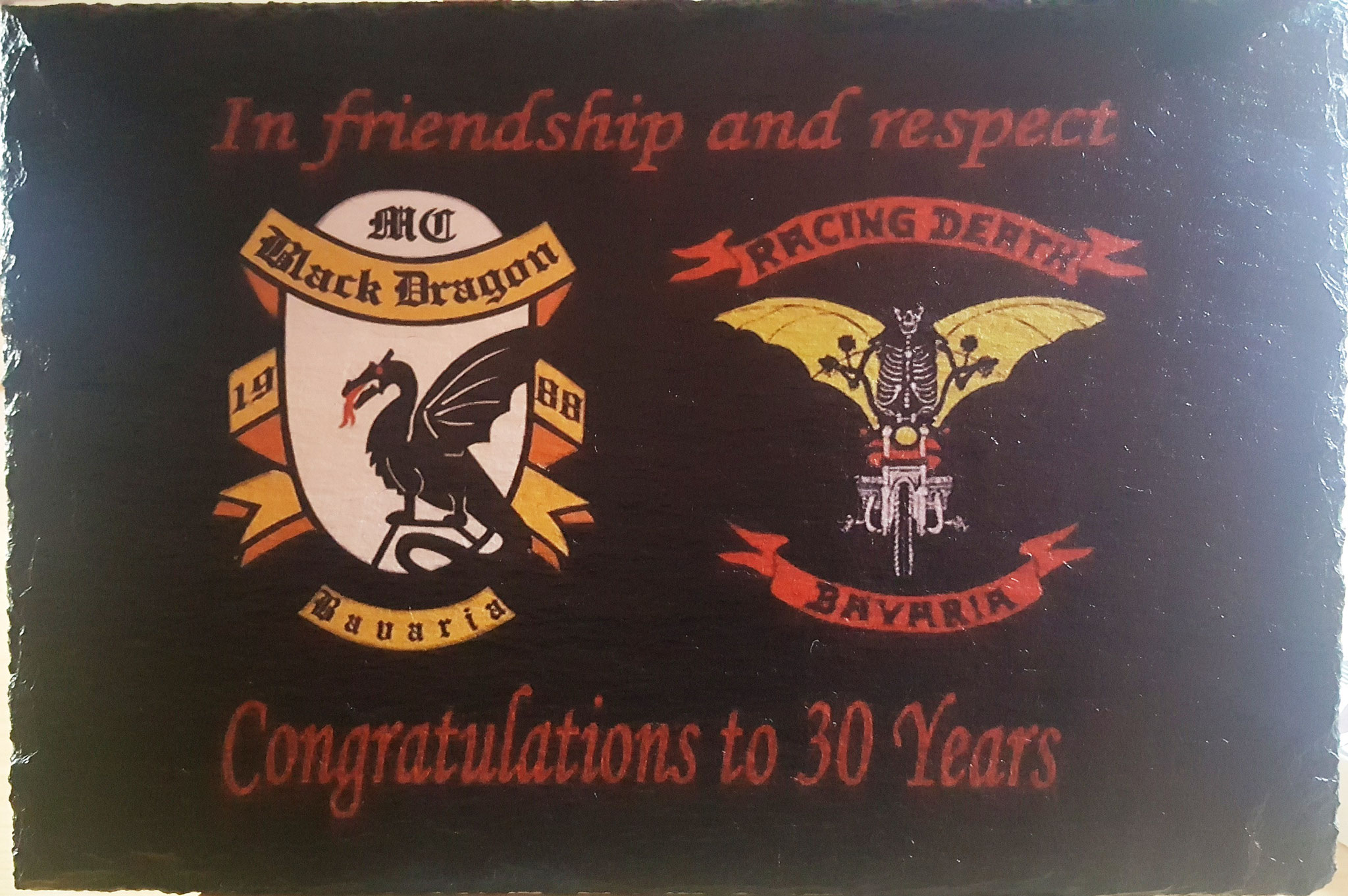 BLACK DRAGONS MC 30 YEARS