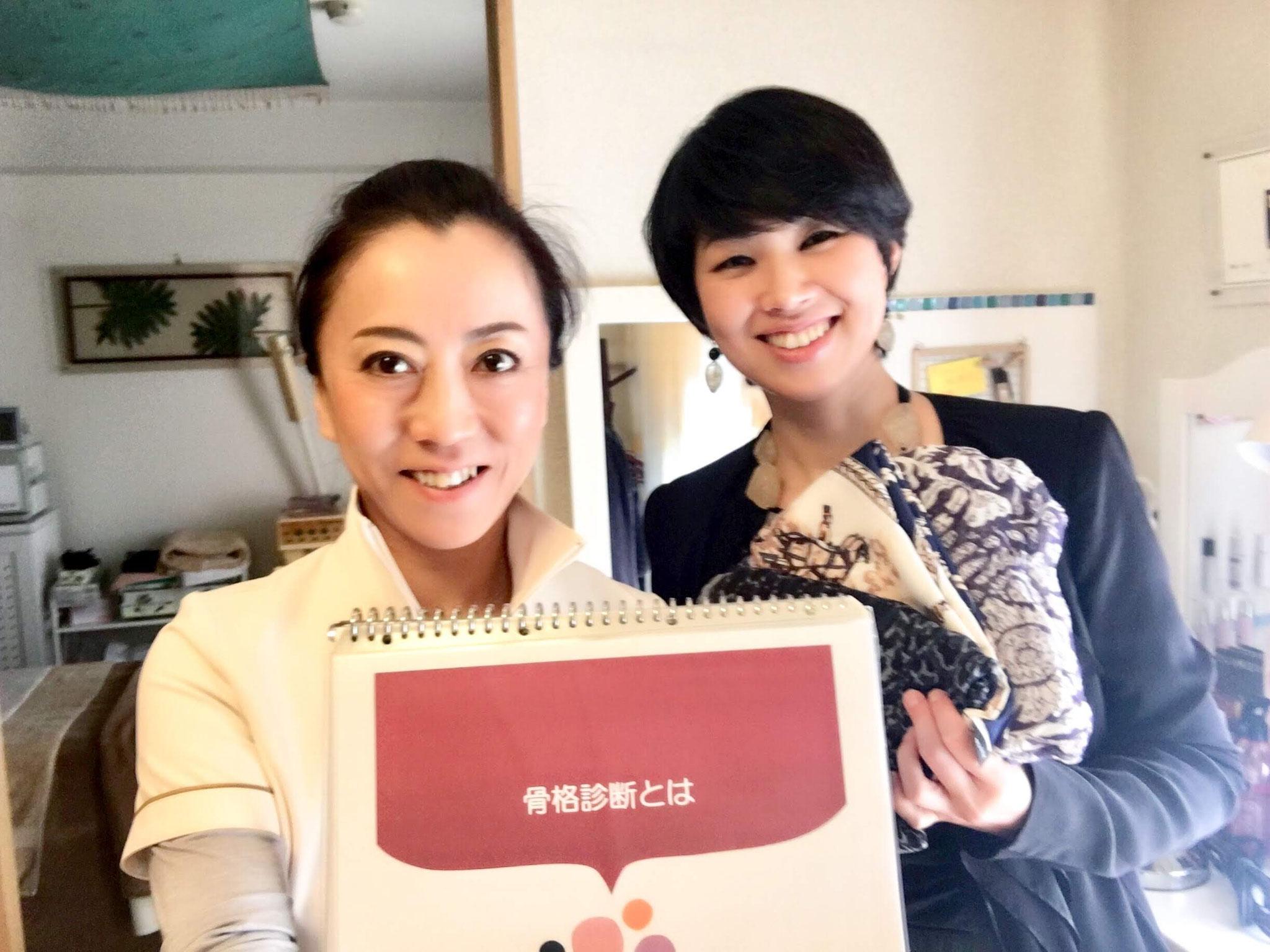 川合先生のアドバイスをきいたらお洋服選びも楽しくなりました!